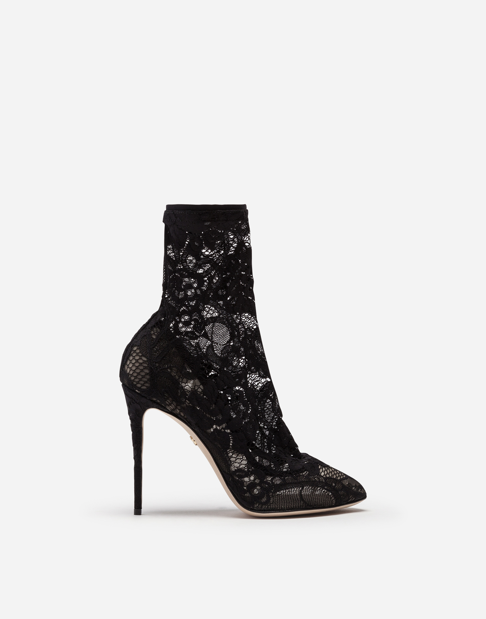 PUMPS WITH LACE SOCKS