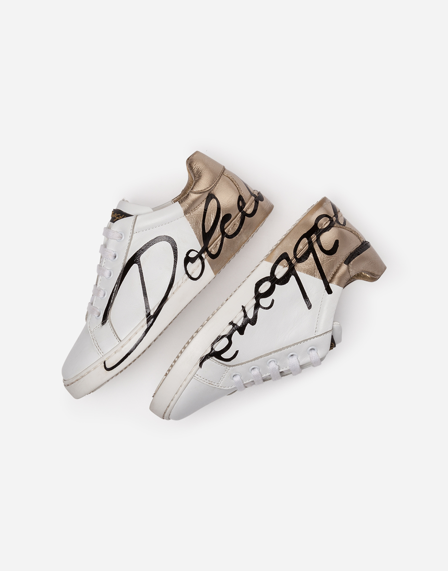 Dolce&Gabbana LEATHER SNEAKERS