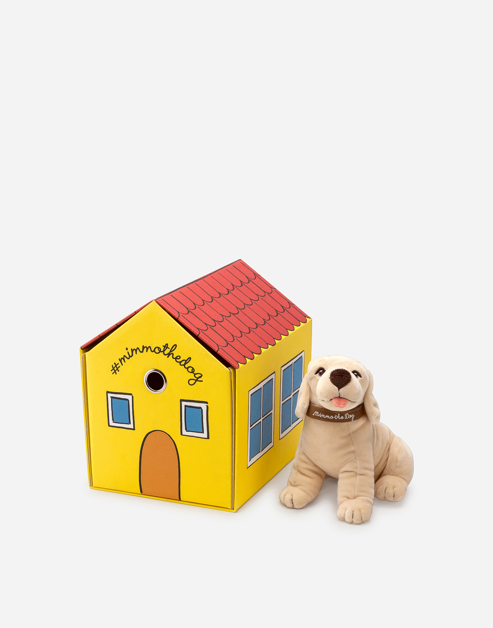MIMMO THE DOG SET AND KENNEL