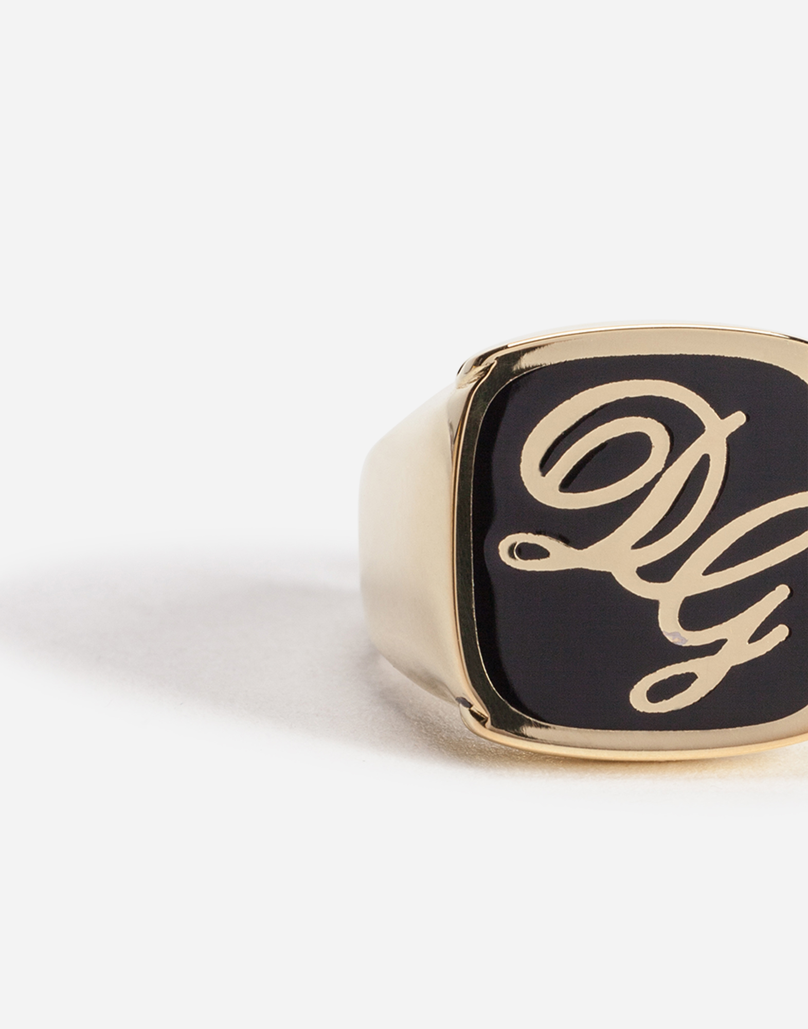 RING WITH LOGO