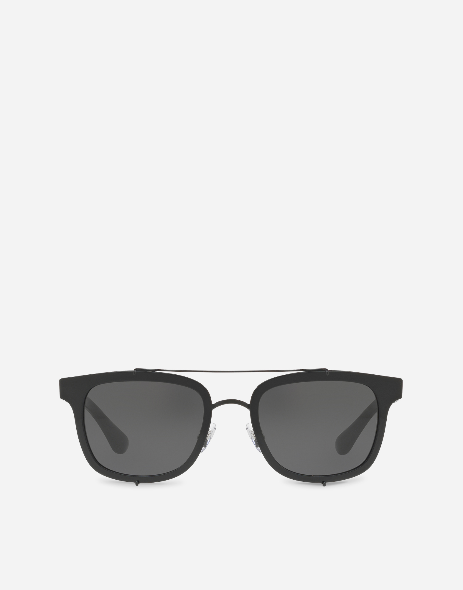 SQUARE SUNGLASSES WITH A METAL FRAME