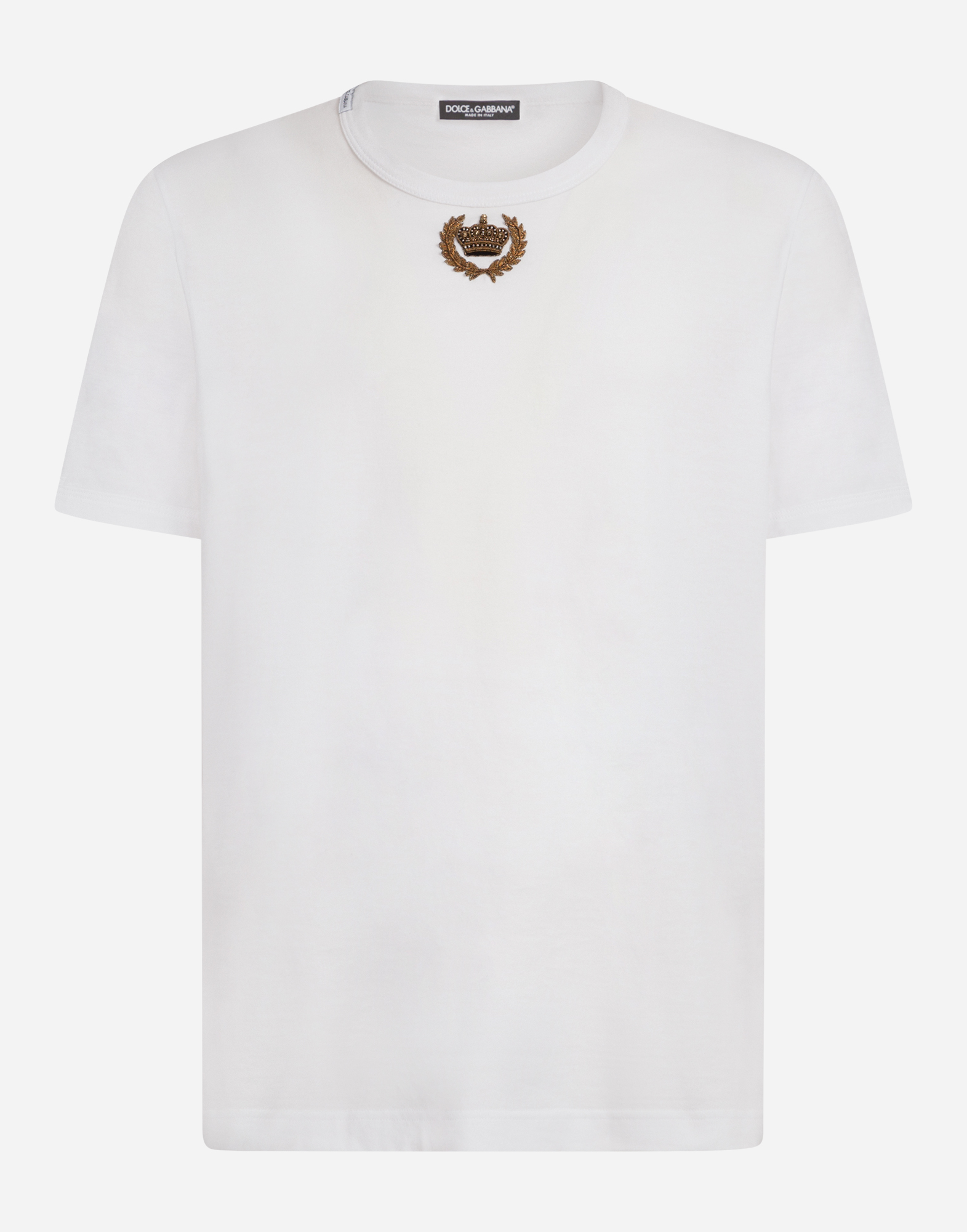 T Shirts And Polo For Men Dolcegabbana Cotton T Shirt With