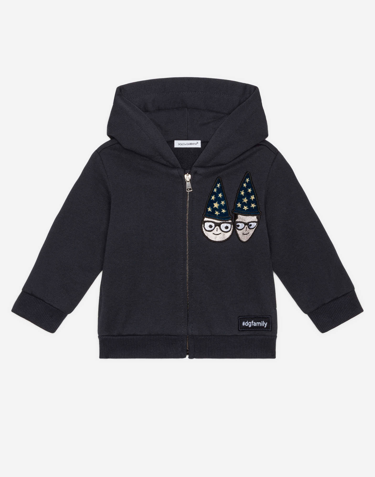 Dolce & Gabbana COTTON SWEATSHIRT WITH PATCH