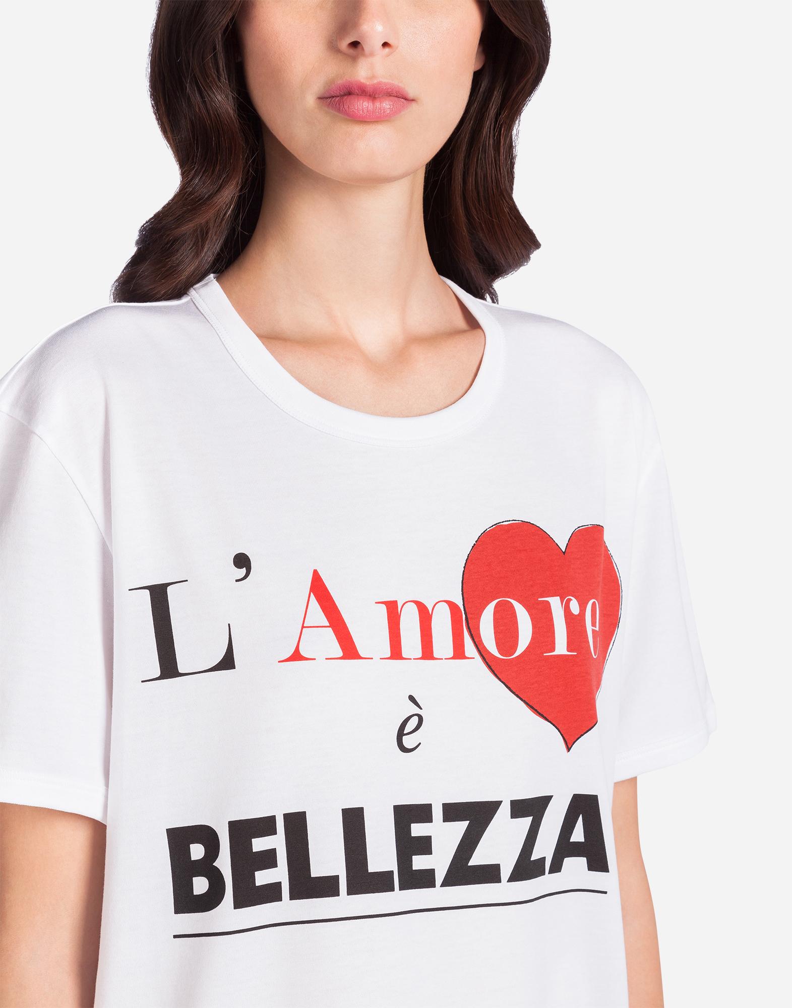 Dolce&Gabbana L'AMORE È BELLEZZA T-SHIRT