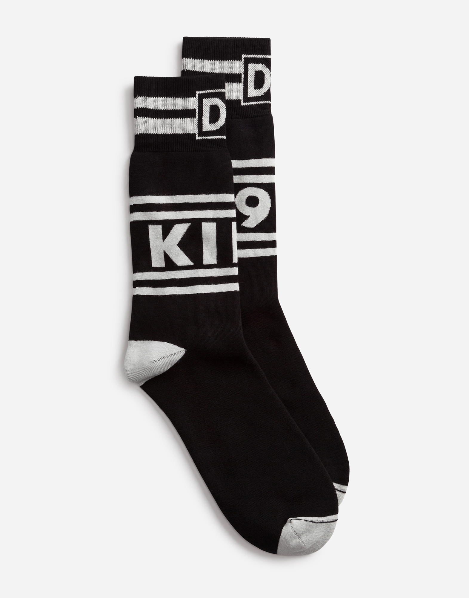 Dolce & Gabbana COTTON JACQUARD SOCKS