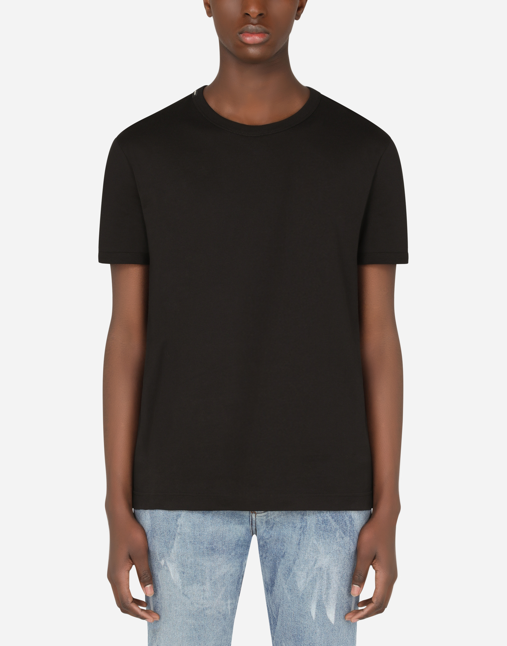 Dolce & Gabbana T-SHIRT IN COTTON
