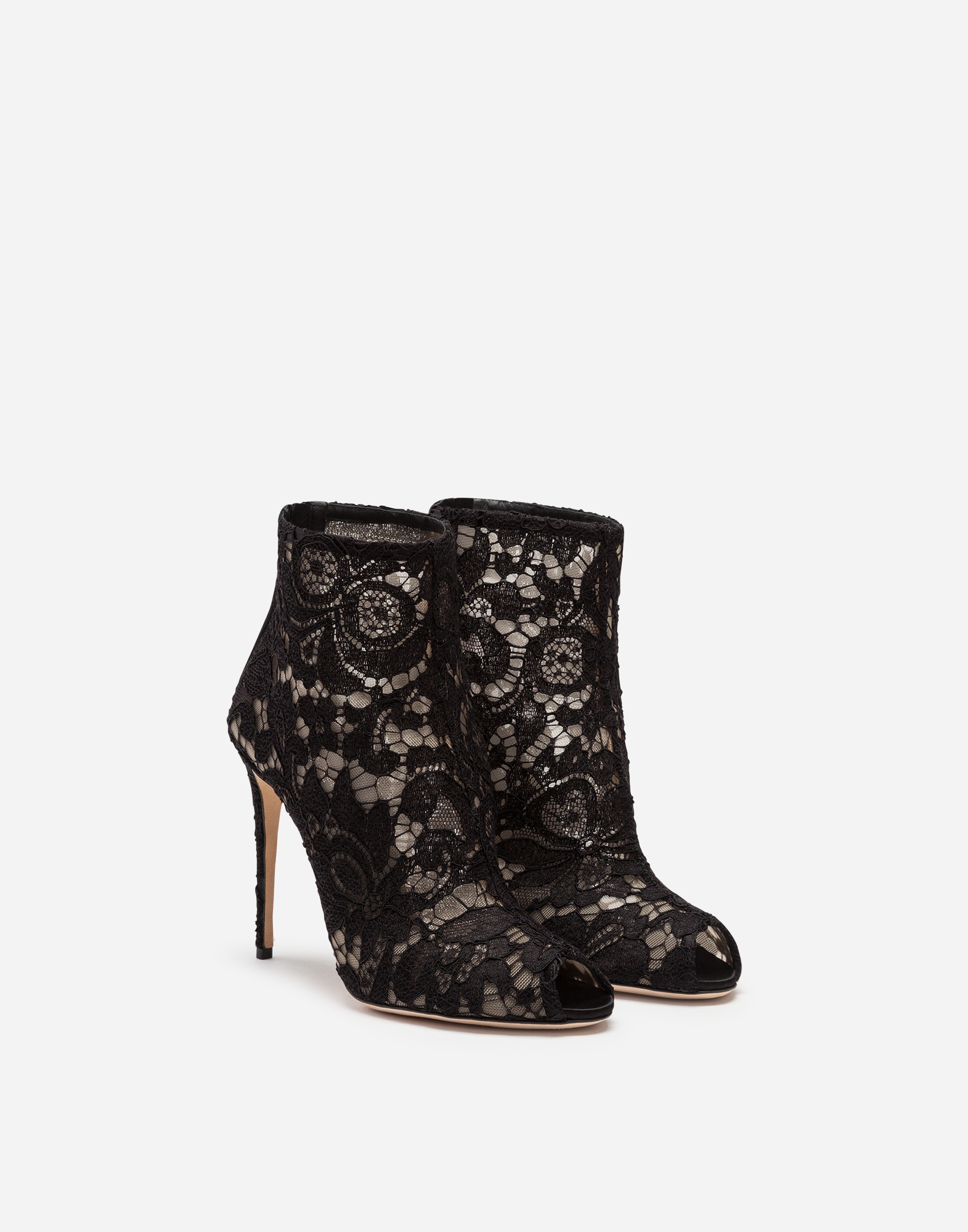 Dolce&Gabbana BOOTS IN LACE