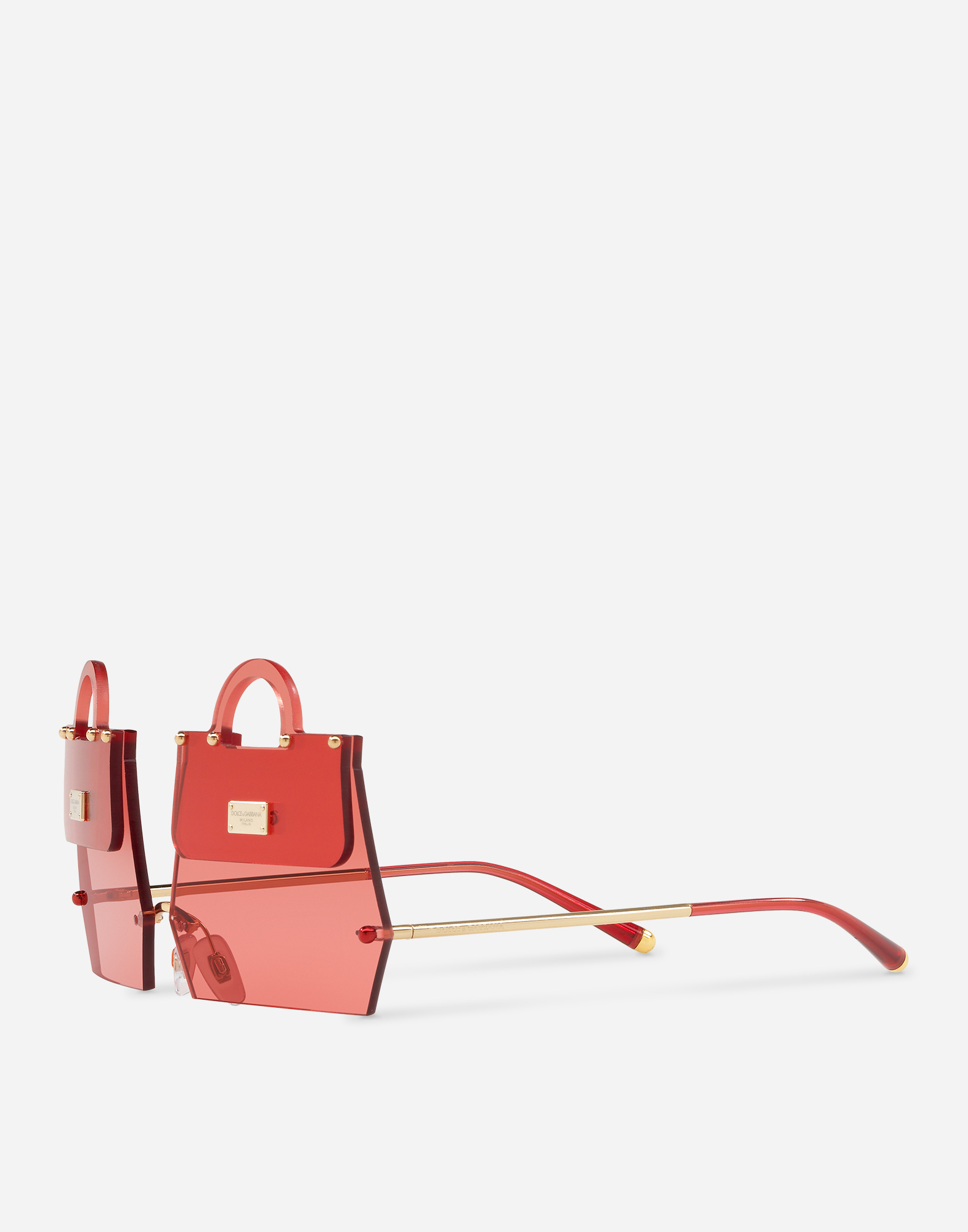 """Dolce & Gabbana METAL SUNGLASSES INSPIRED BY THE """"SICILY"""" BAG"""