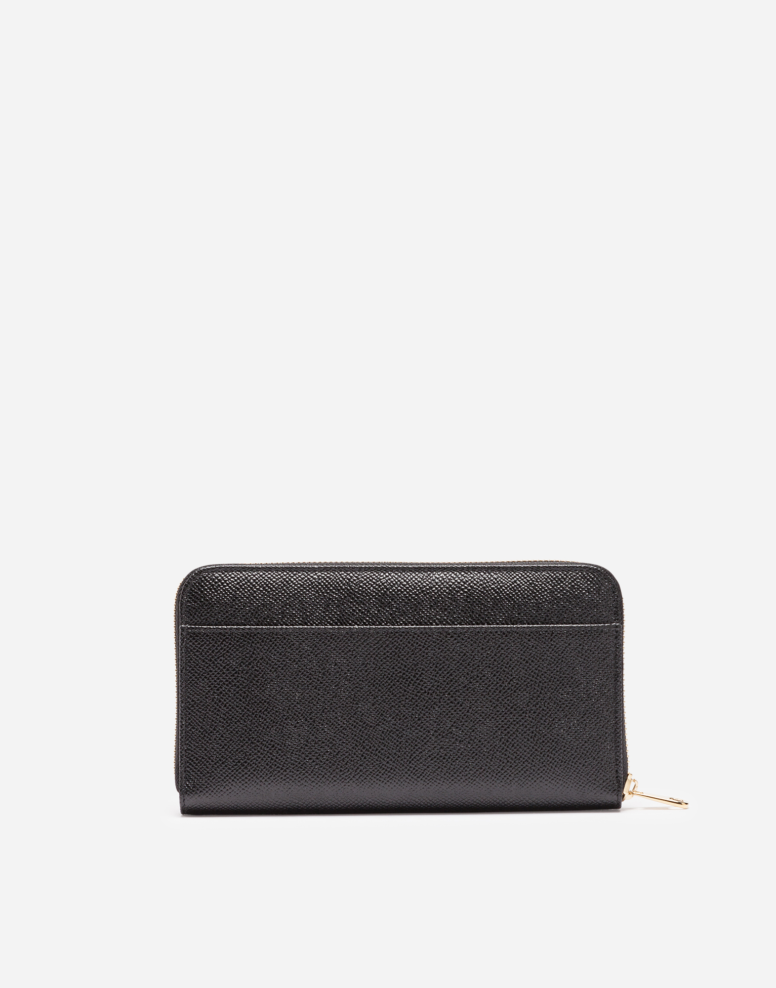 ZIP-AROUND LEATHER WALLET