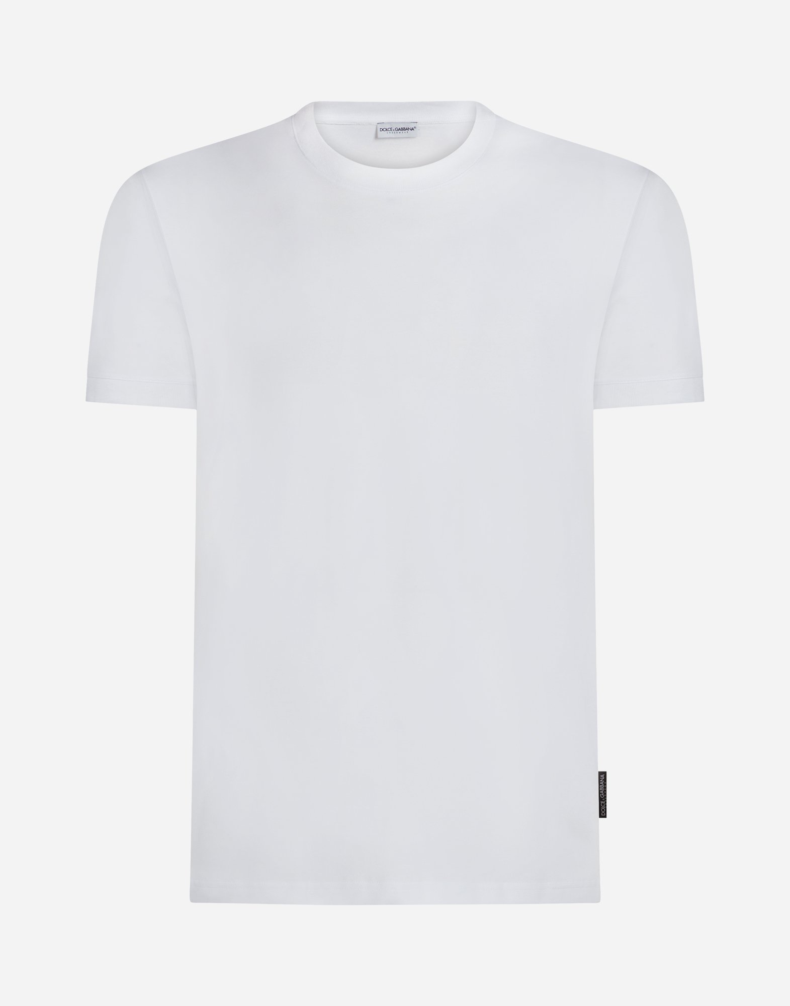Dolce&Gabbana CREW NECK COTTON T-SHIRT