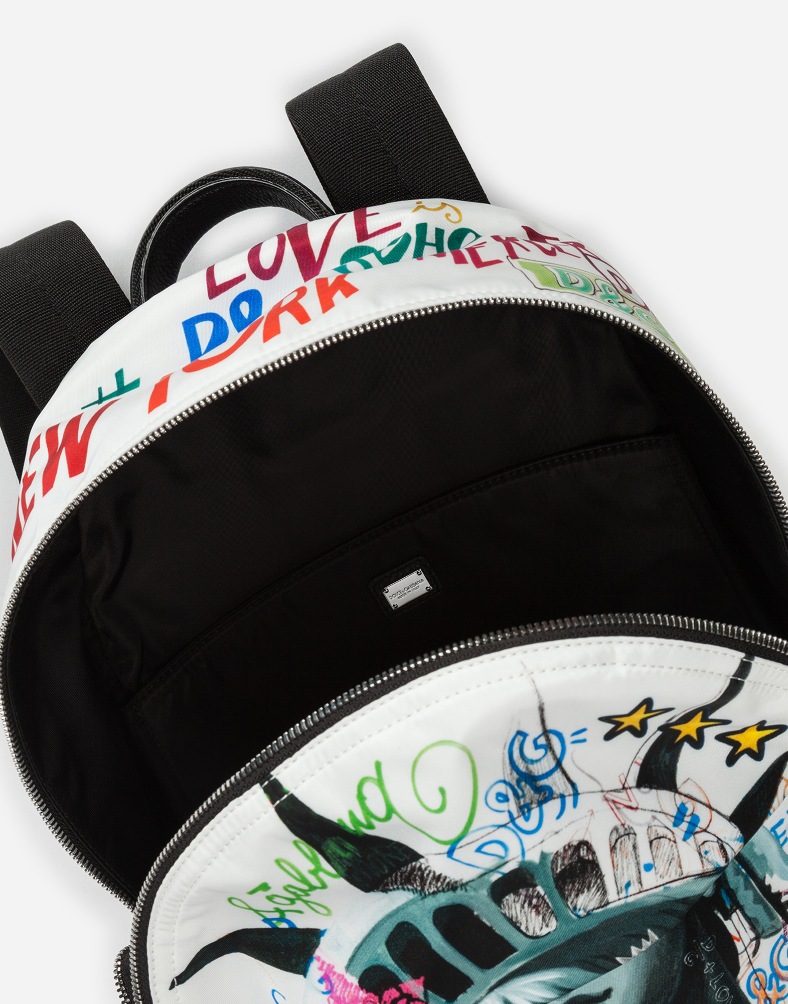 PRINTED NYLON VULCANO BACKPACK