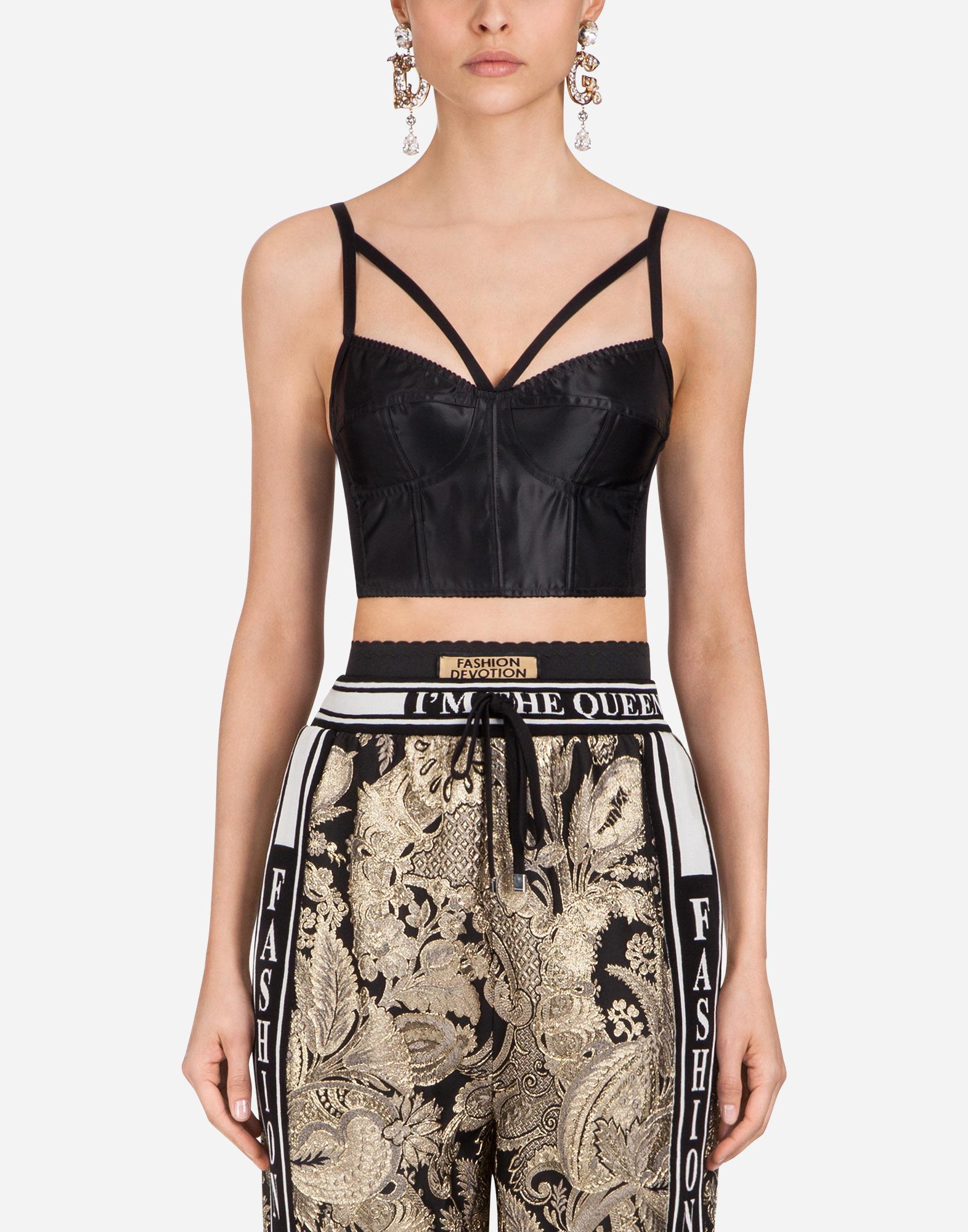 Dolce&Gabbana SATIN TOP