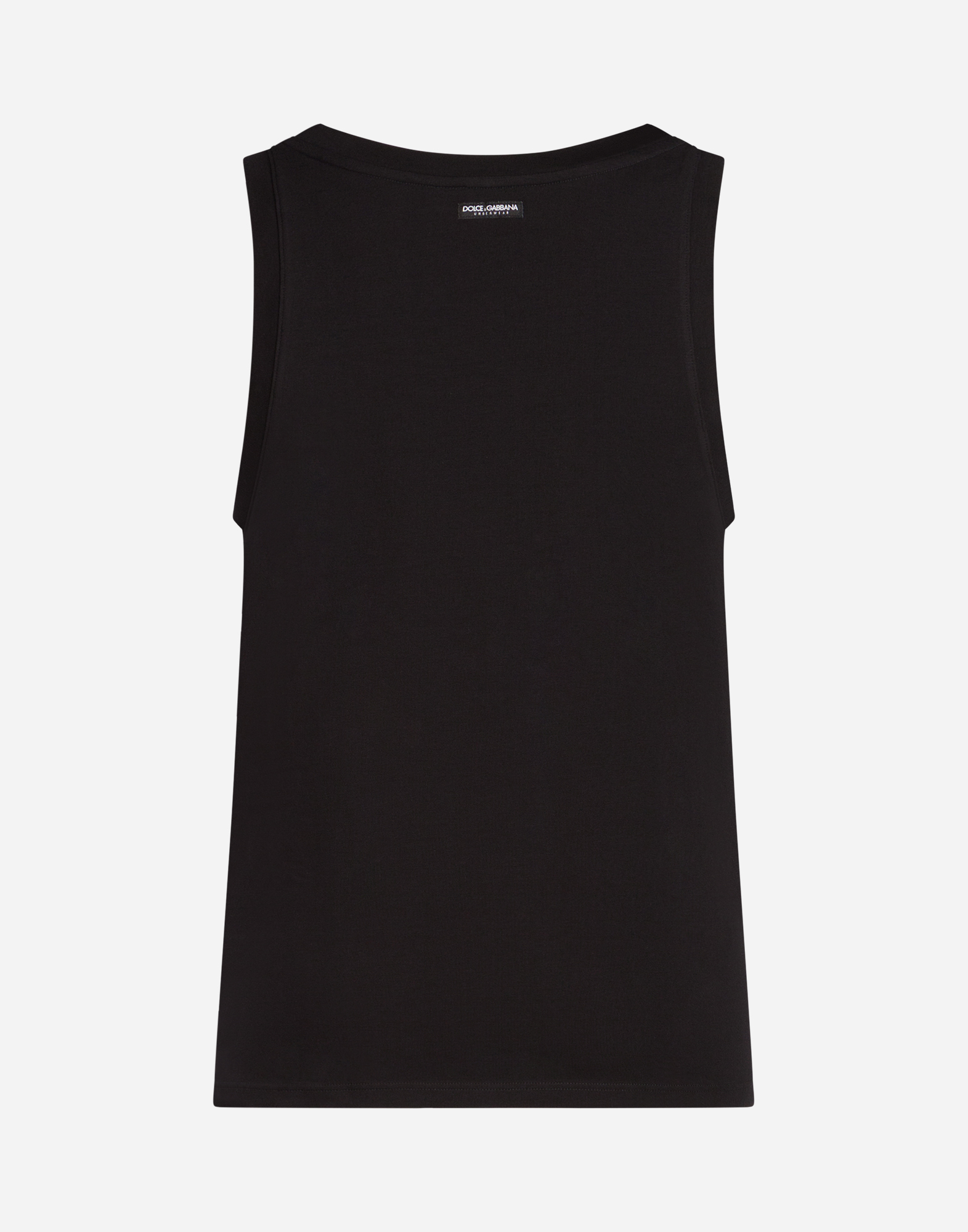 Dolce & Gabbana SET OF 2 COTTON TANKS