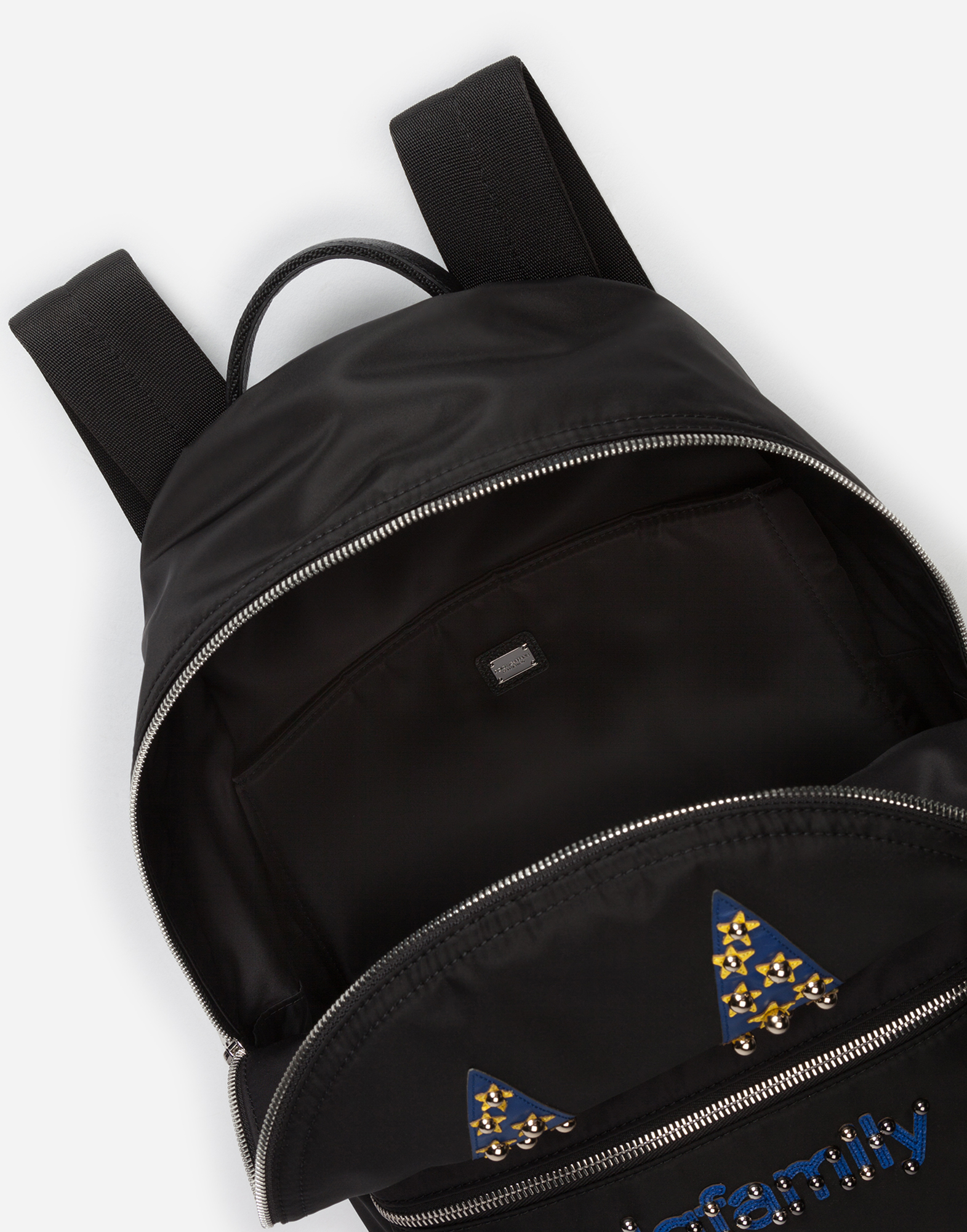 Dolce & Gabbana VULCANO BACKPACK WITH DESIGNERS' PATCHES