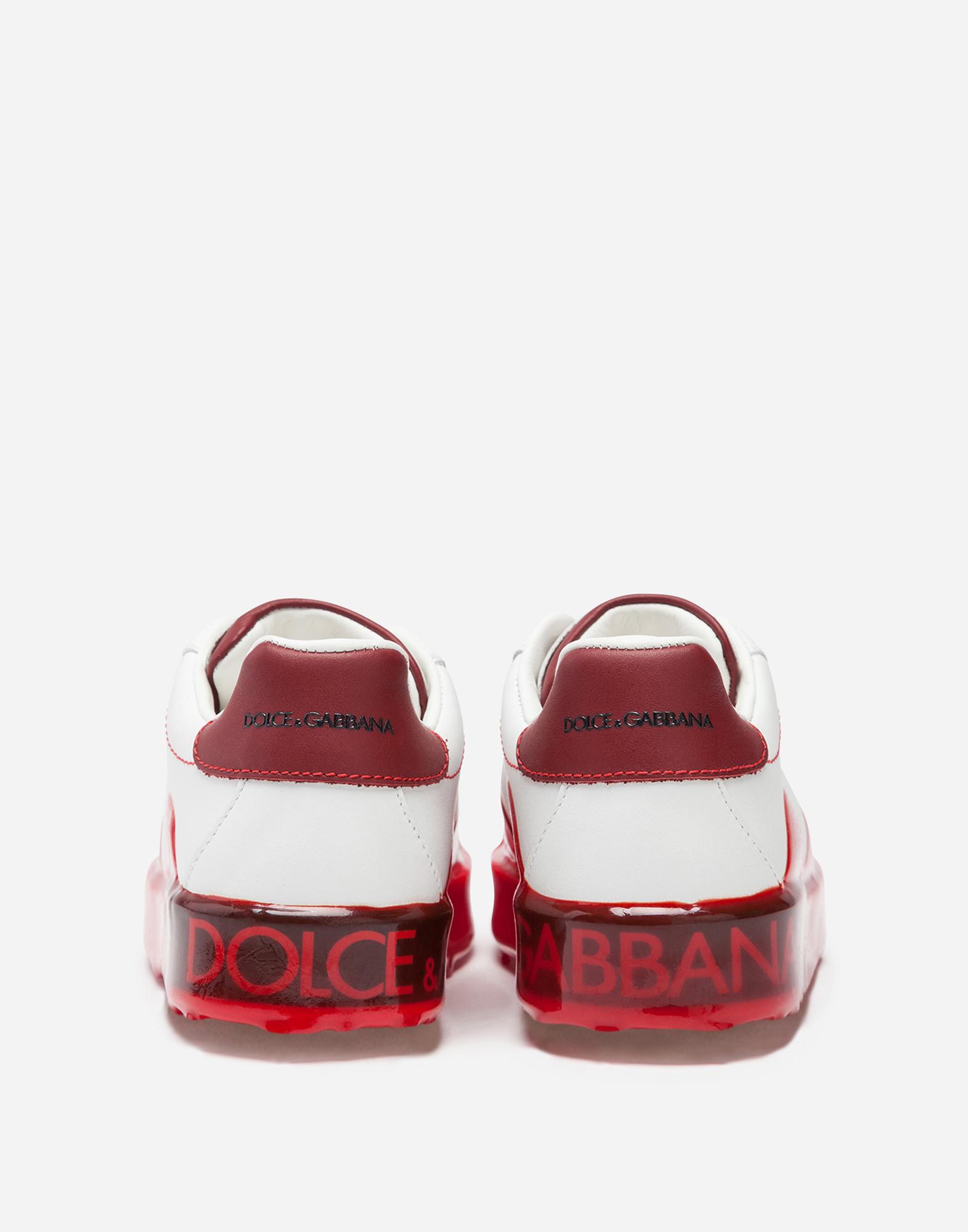 Dolce & Gabbana PORTOFINO MELT PRINTED SNEAKERS