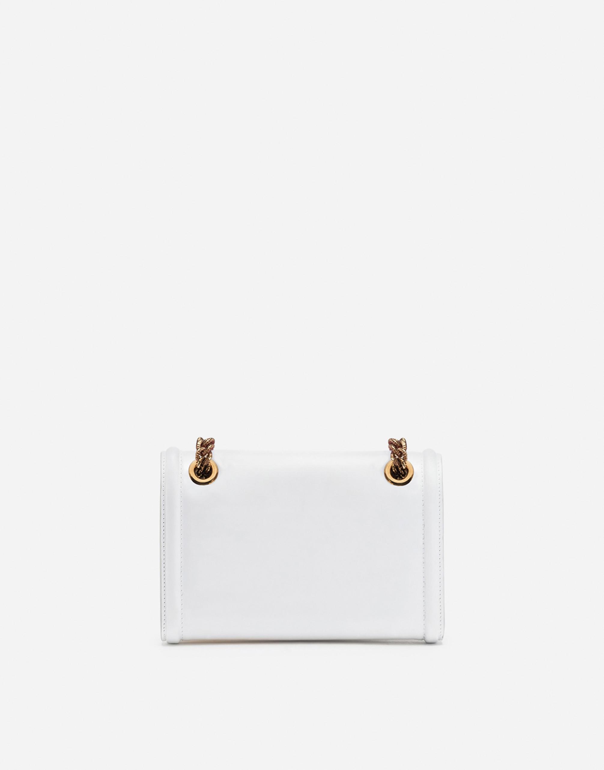 Dolce&Gabbana MINI DEVOTION BAG IN SMOOTH CALFSKIN