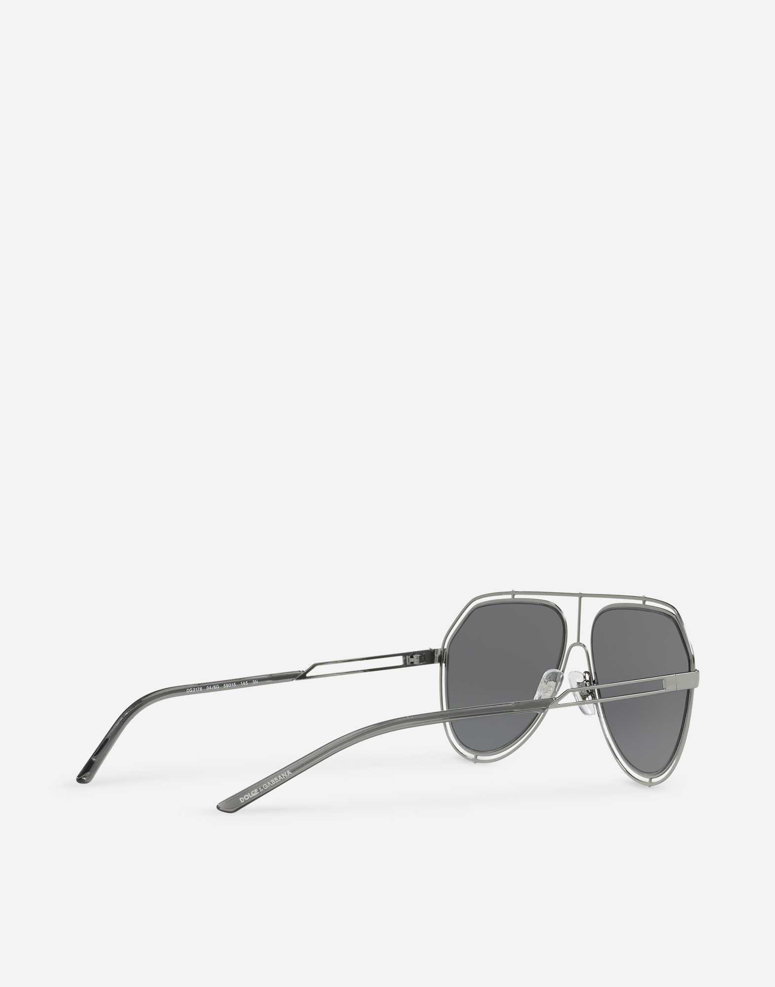 Dolce & Gabbana AVIATOR SUNGLASSES WITH METAL RIMS