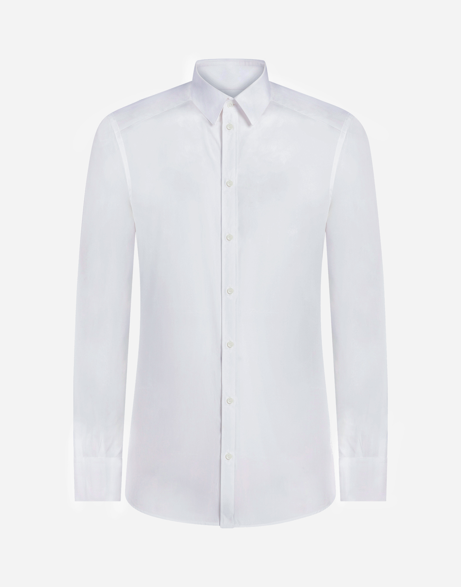 Dolce&Gabbana MARTINI FIT SHIRT IN JACQUARD COTTON