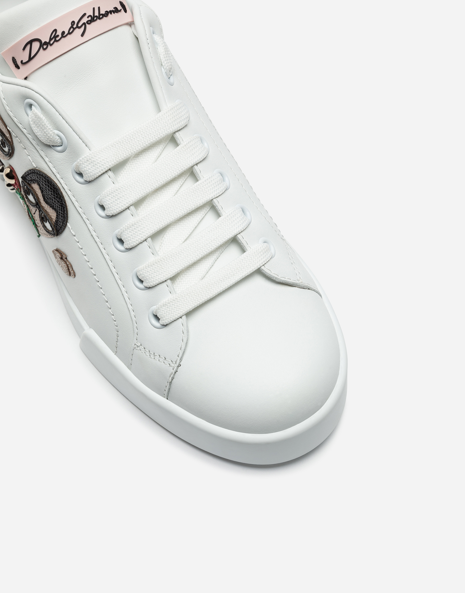 PORTOFINO SNEAKERS WITH PATCH