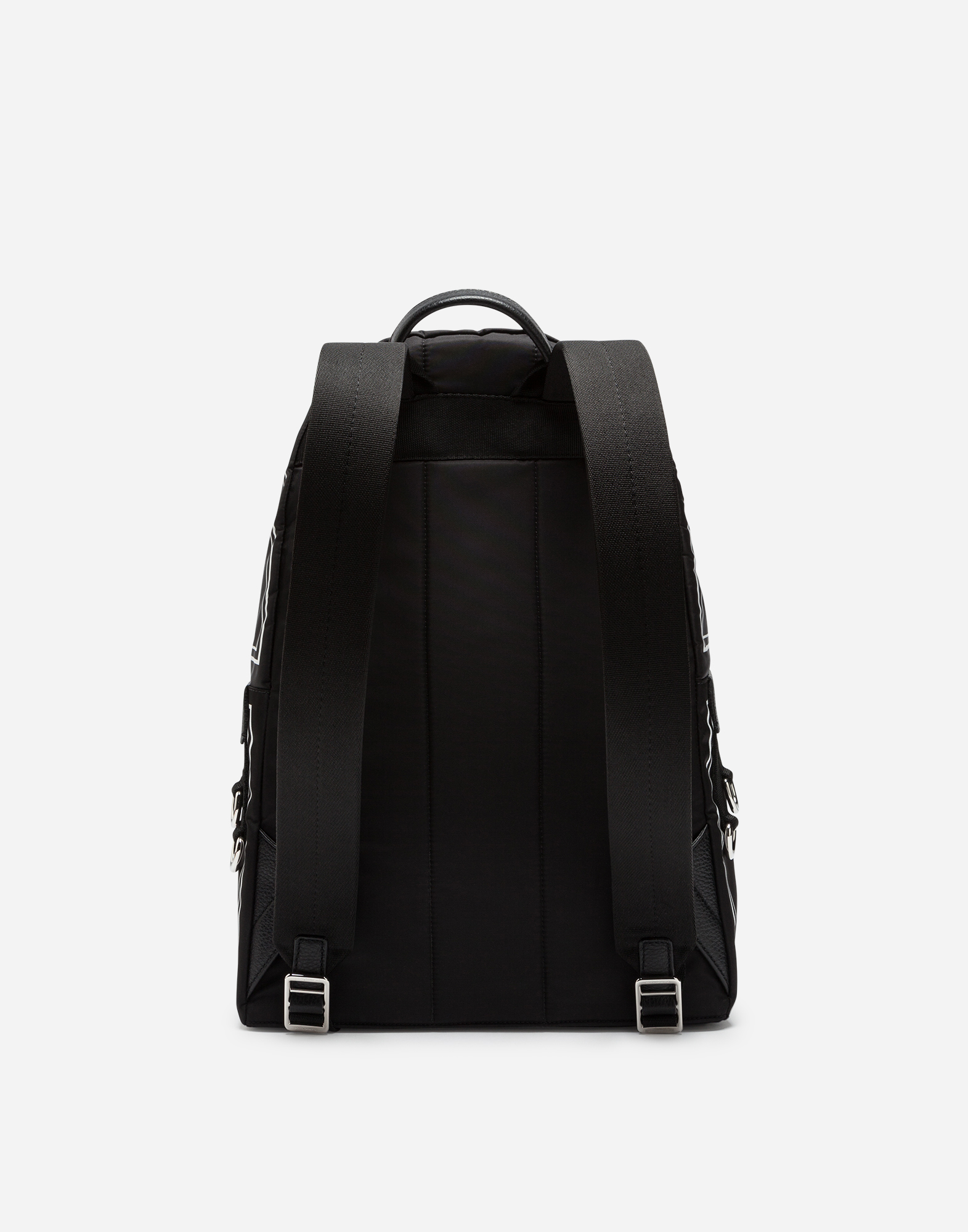 Dolce&Gabbana PRINTED NYLON VULCANO BACKPACK