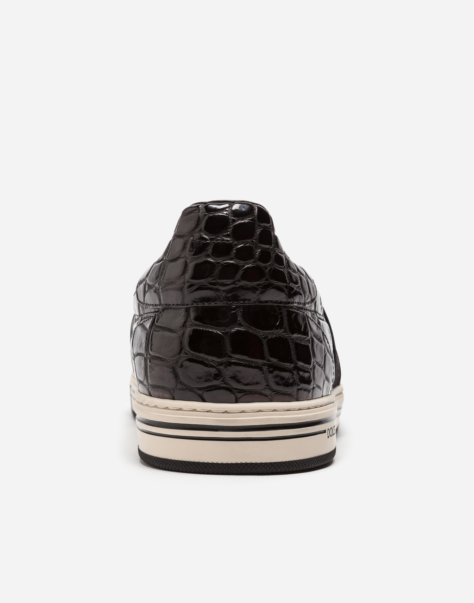 ROME SLIP-ON SNEAKERS IN CROCODILE LEATHER