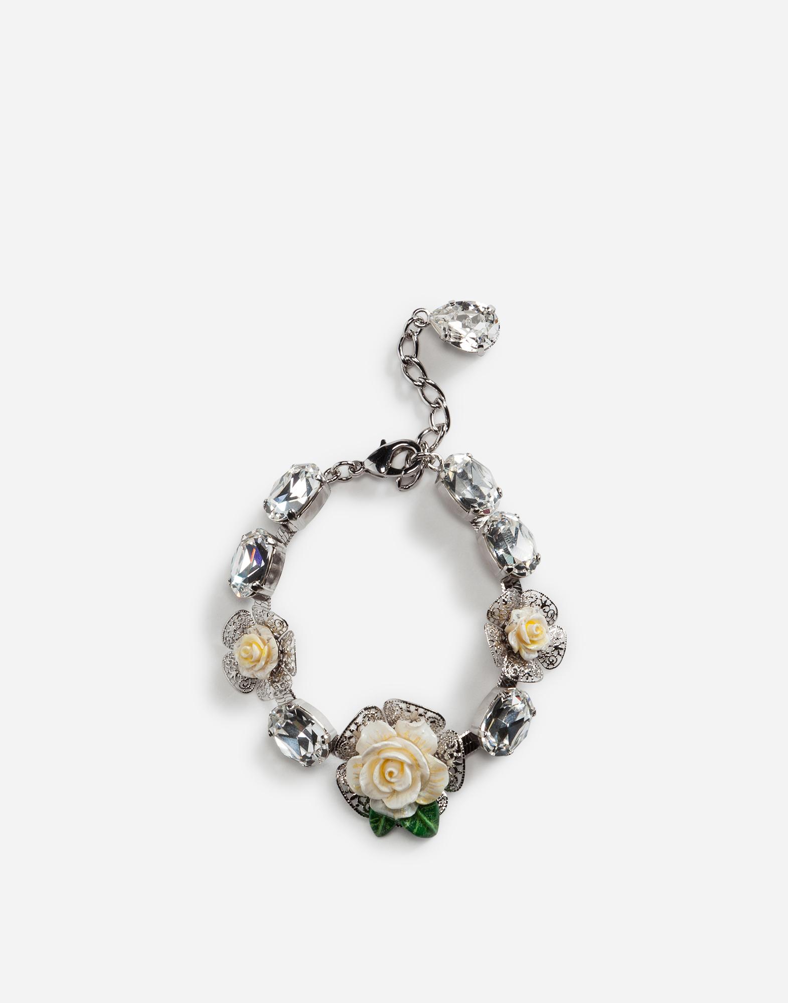 Dolce&Gabbana BRACELET WITH ROSES