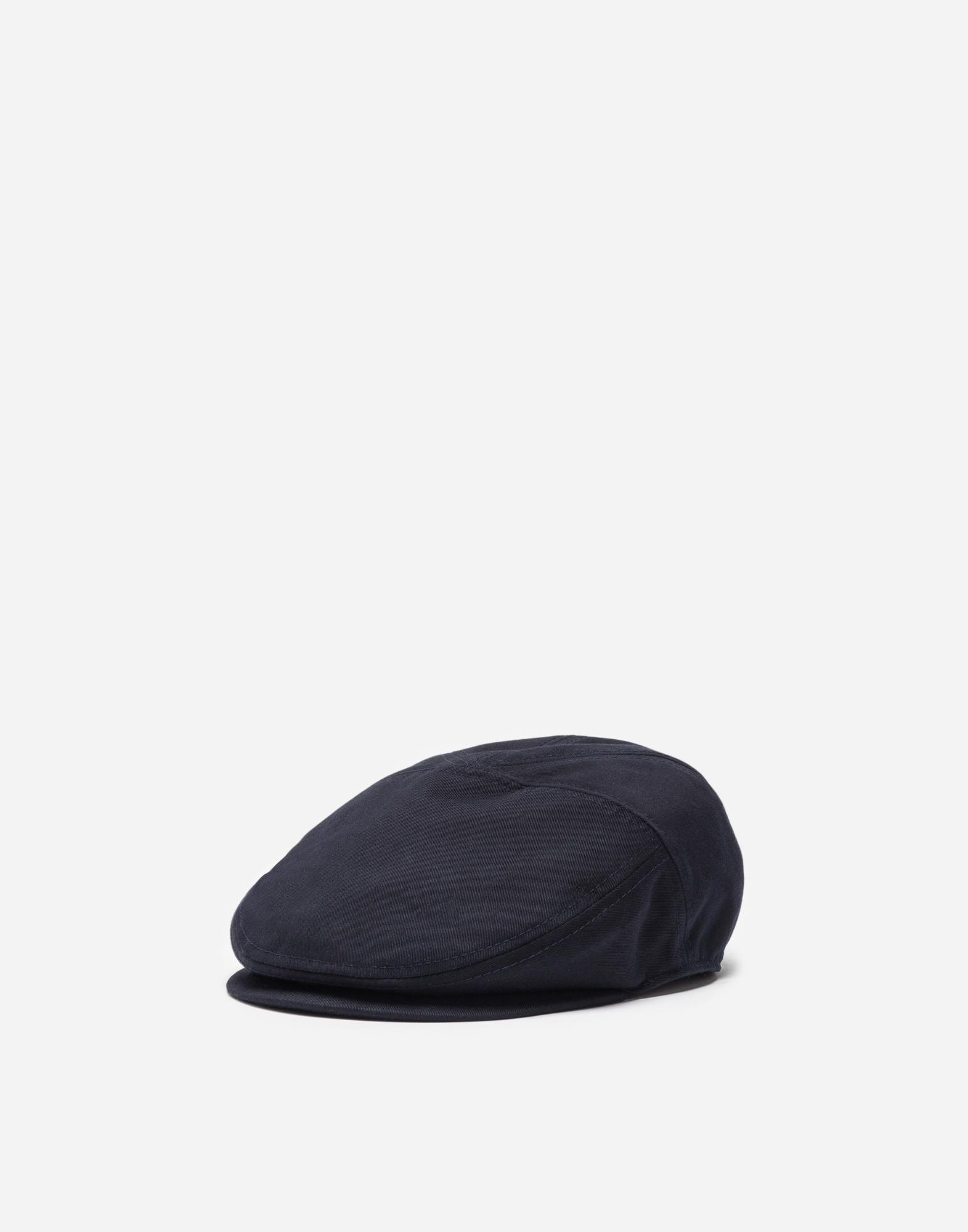 Dolce&Gabbana FLAT CAP IN COTTON