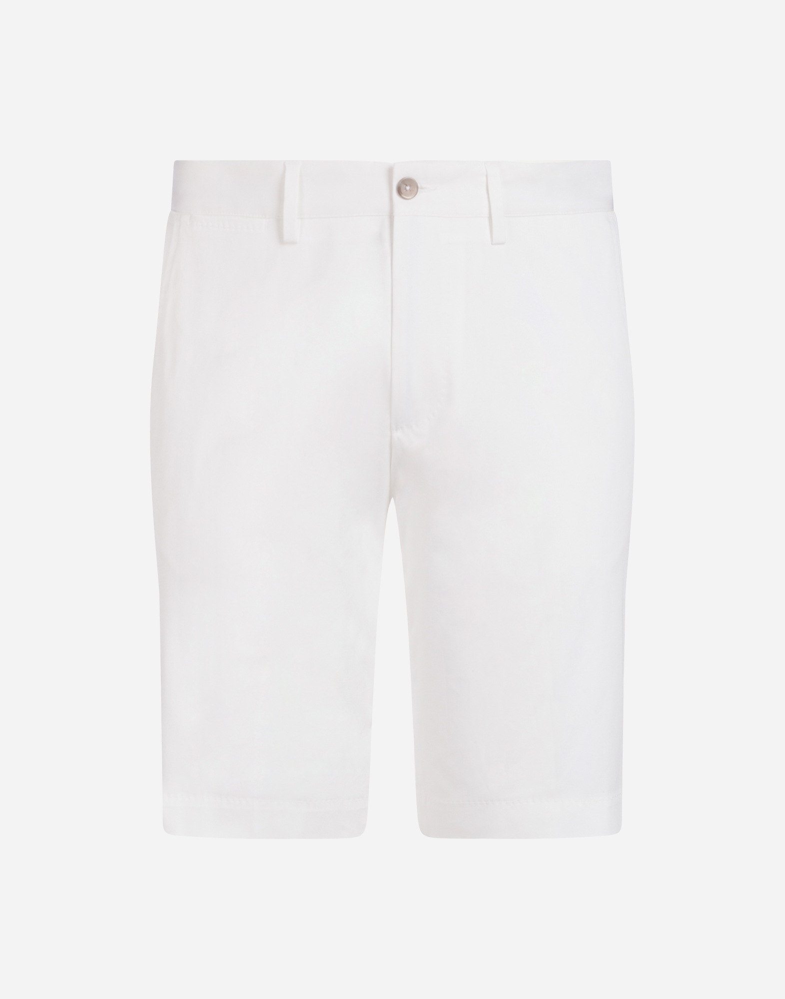 BERMUDA SHORTS IN STRETCH COTTON