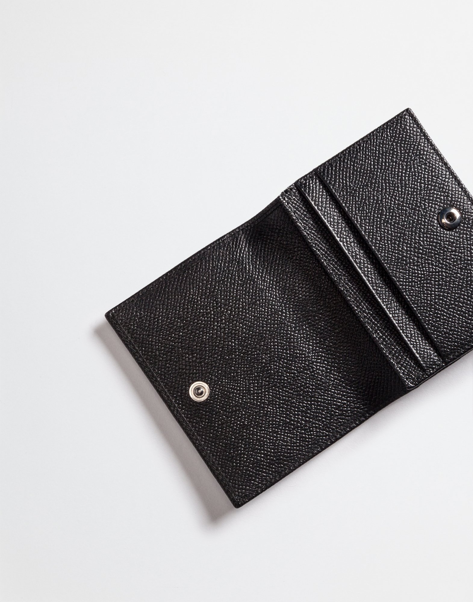 CARDHOLDER IN DAUPHINE LEATHER