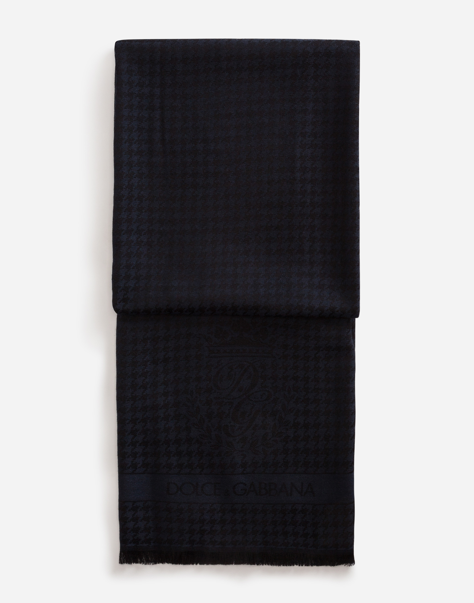 SCARF IN CASHMERE AND WOOL