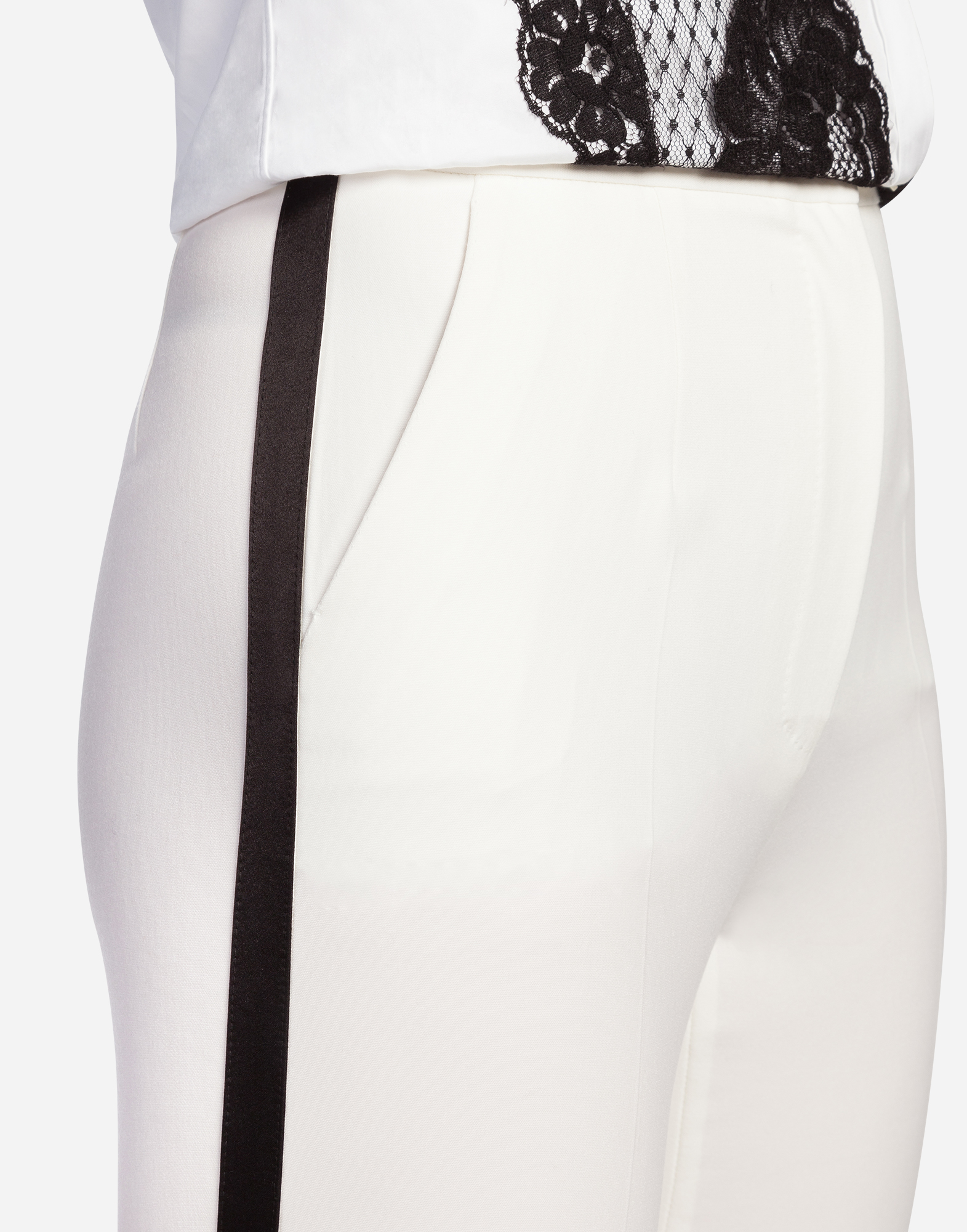 Dolce & Gabbana WOOL TUXEDO PANTS