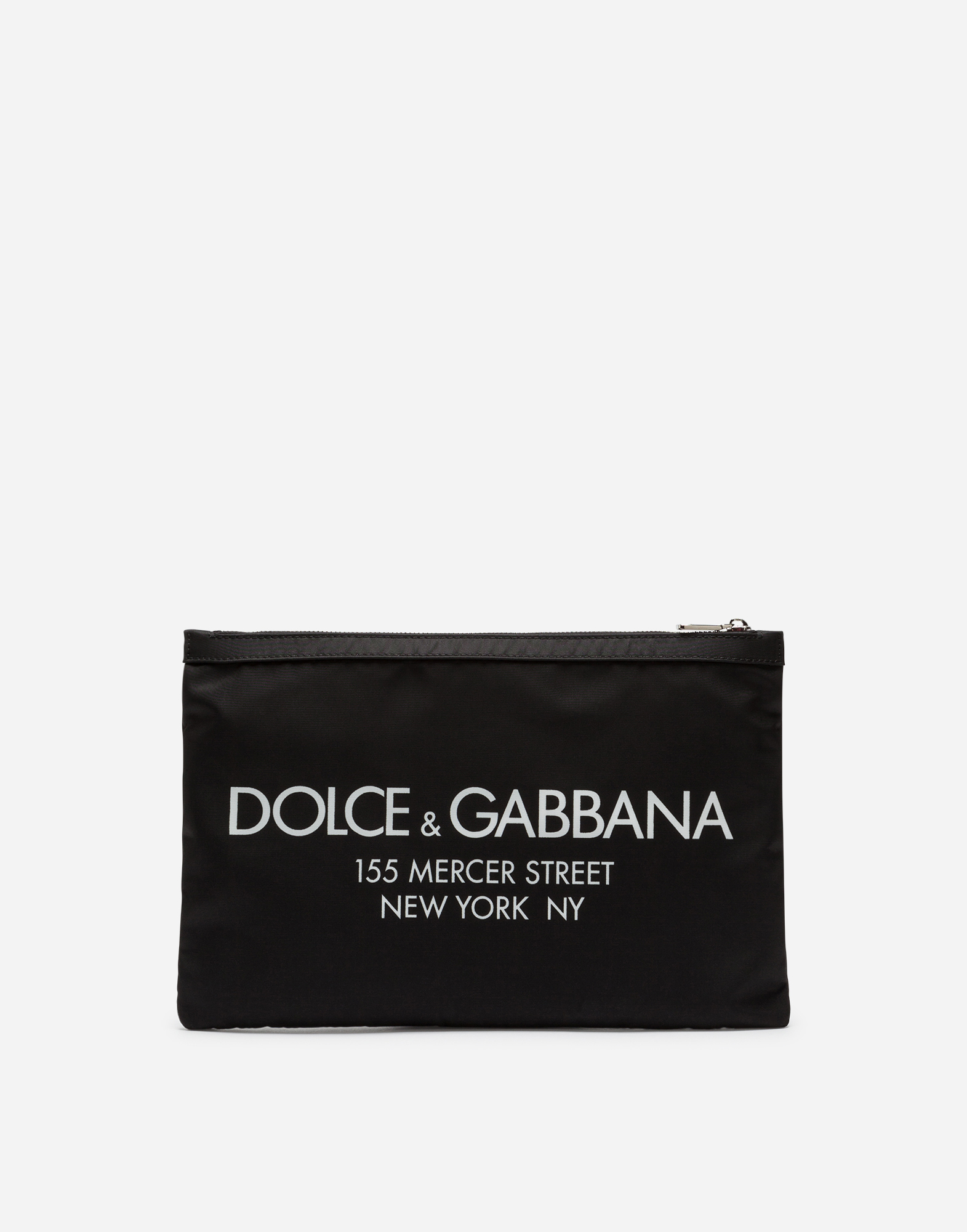 Dolce&Gabbana PRINTED NYLON DOCUMENT HOLDER