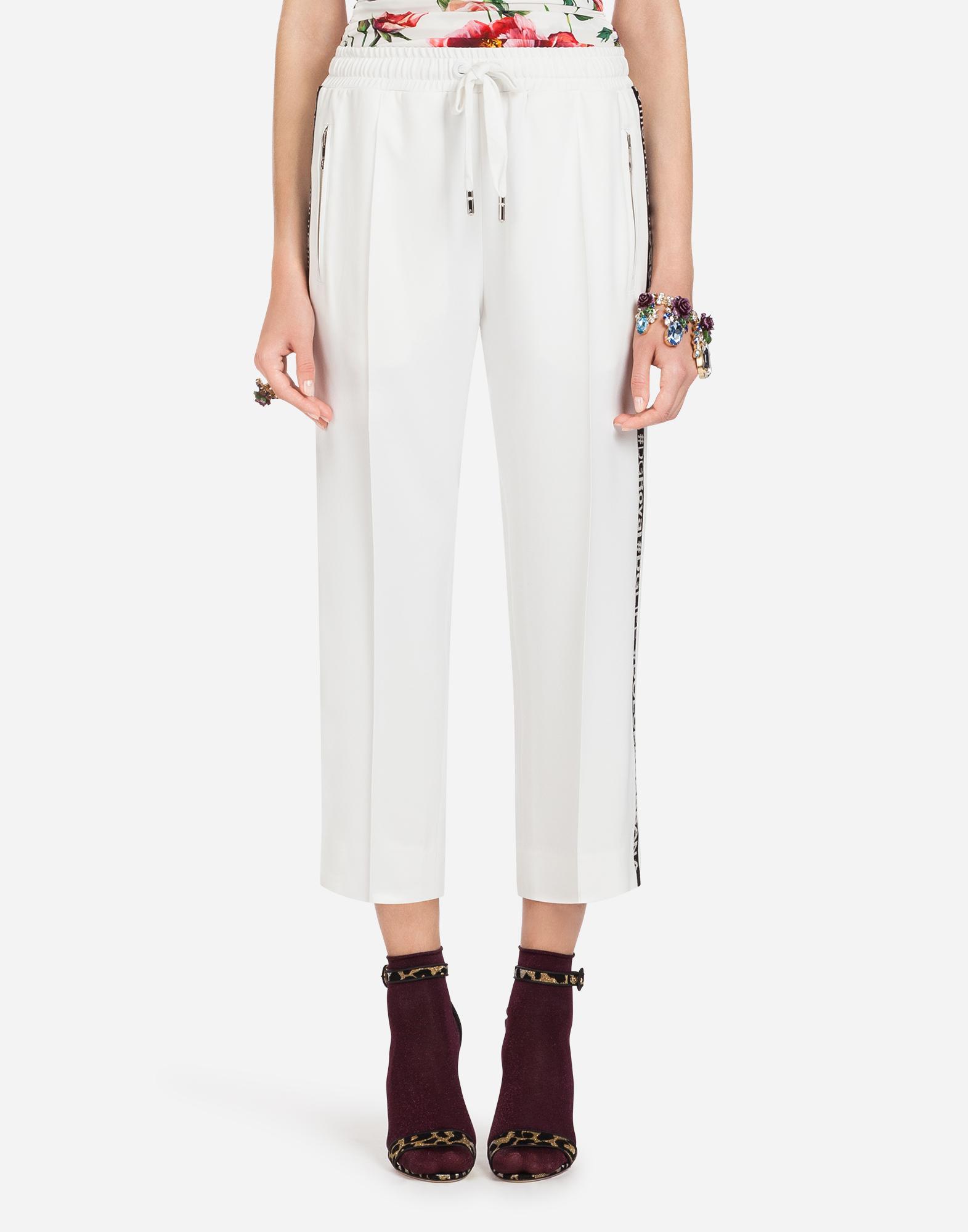 Dolce & Gabbana CADY JOGGING PANTS