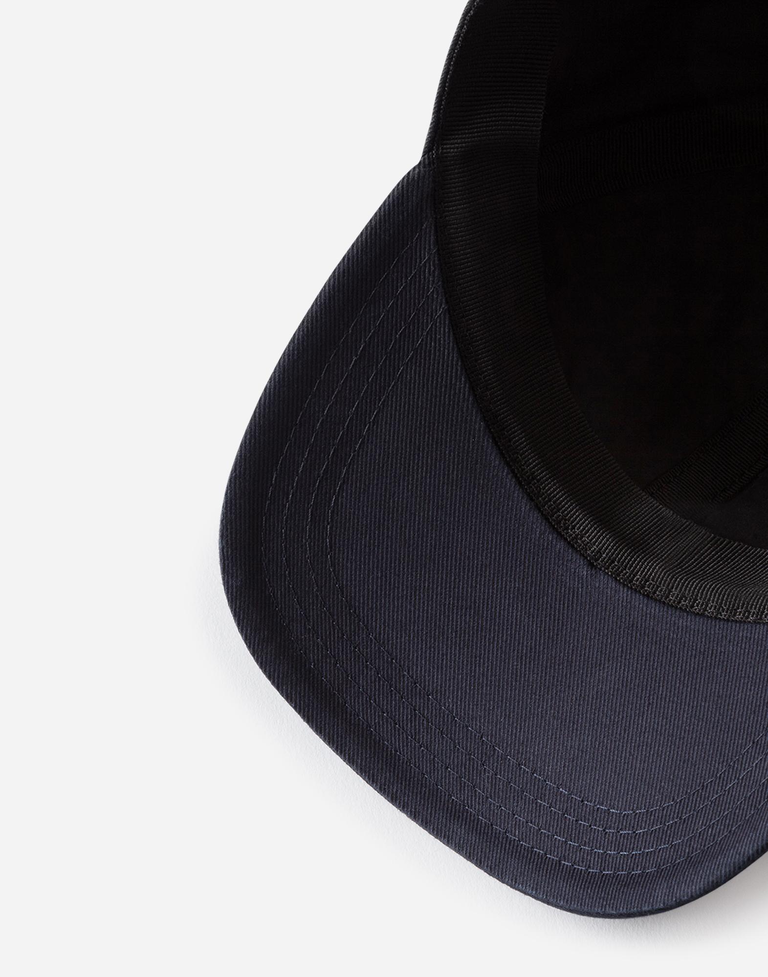 Dolce&Gabbana BASEBALL CAP IN PRINTED STRETCH COTTON
