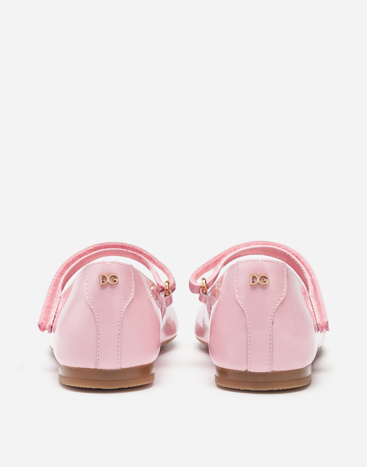 Dolce & Gabbana MARY JANE BALLET FLATS IN VARNISH