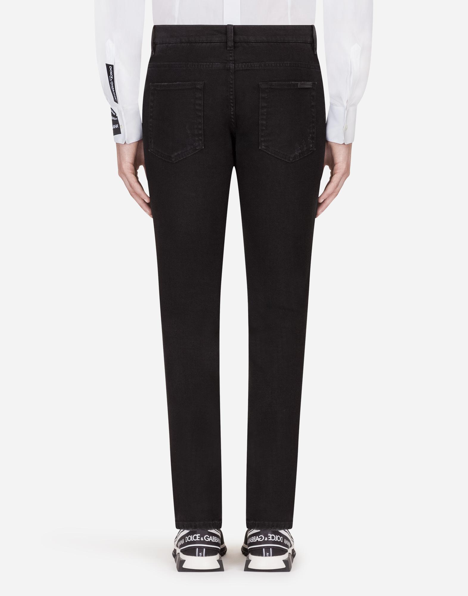 Dolce & Gabbana SKINNY FIT STRETCH JEANS