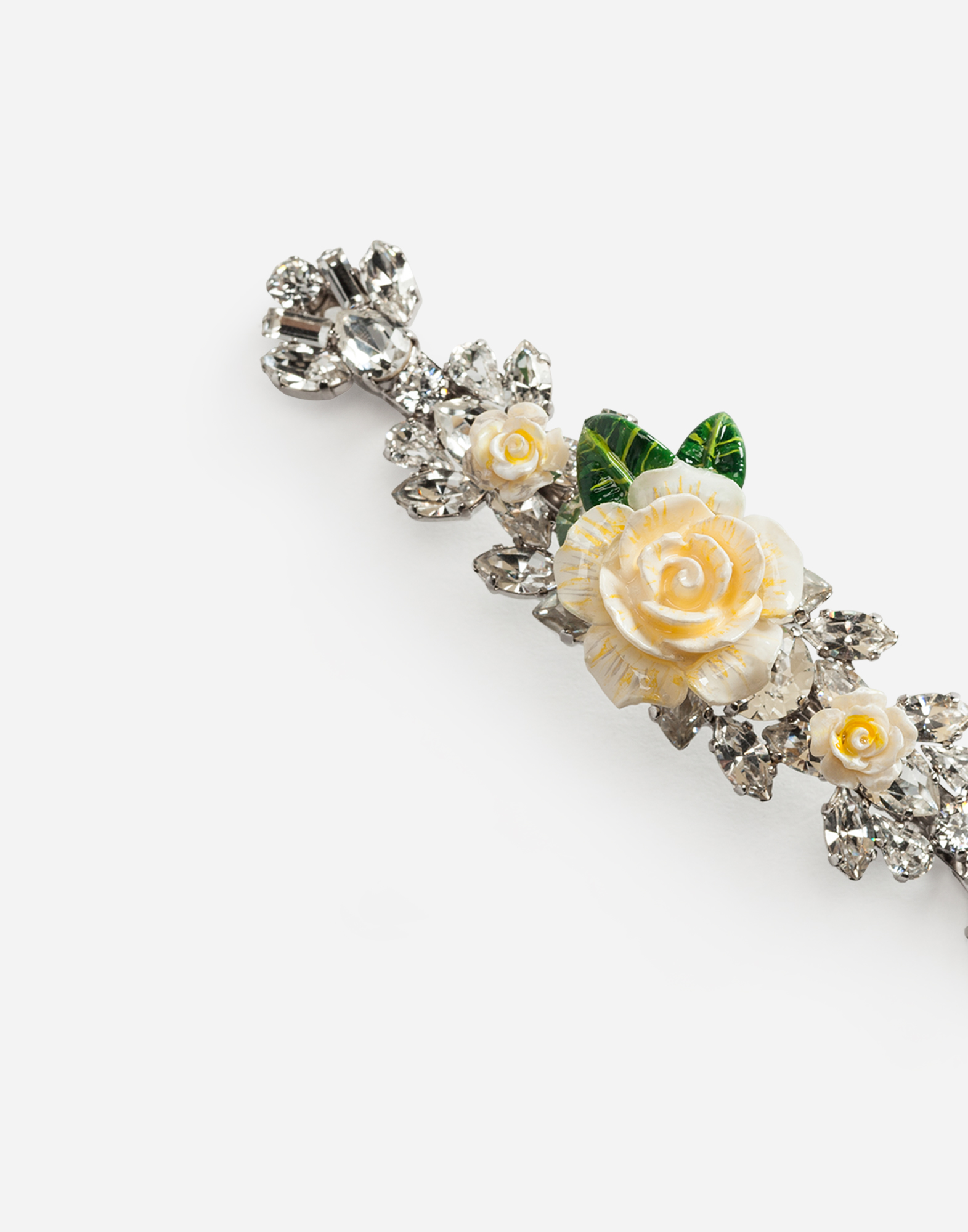 HAIR CLIP WITH ROSES