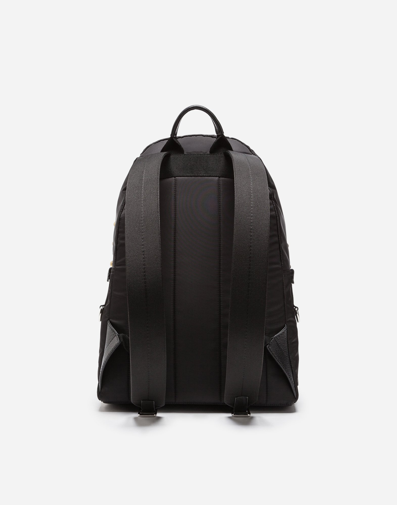 Dolce & Gabbana NYLON VULCANO BACKPACK WITH HEART PATCH