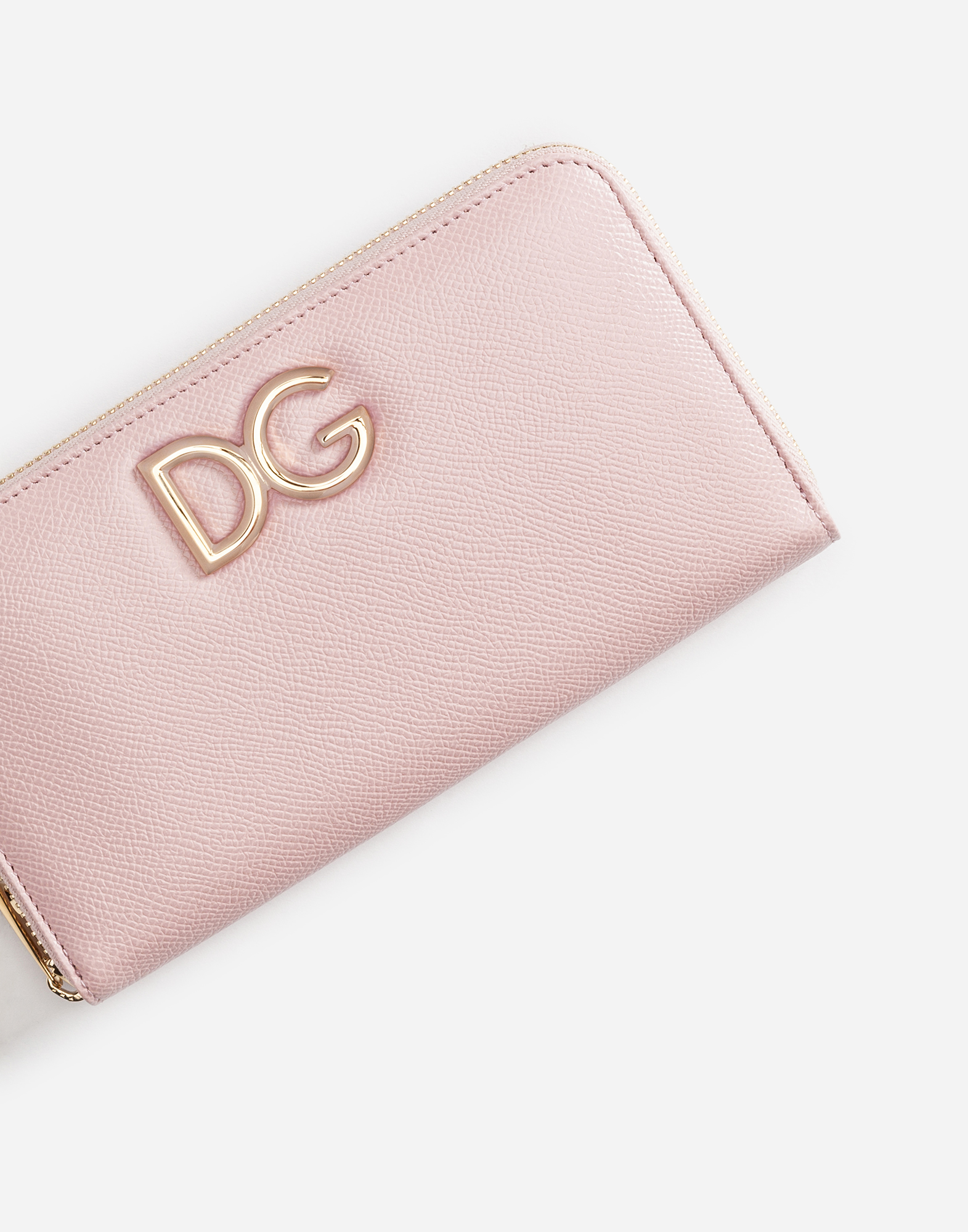 Dolce&Gabbana ZIP-AROUND LEATHER WALLET