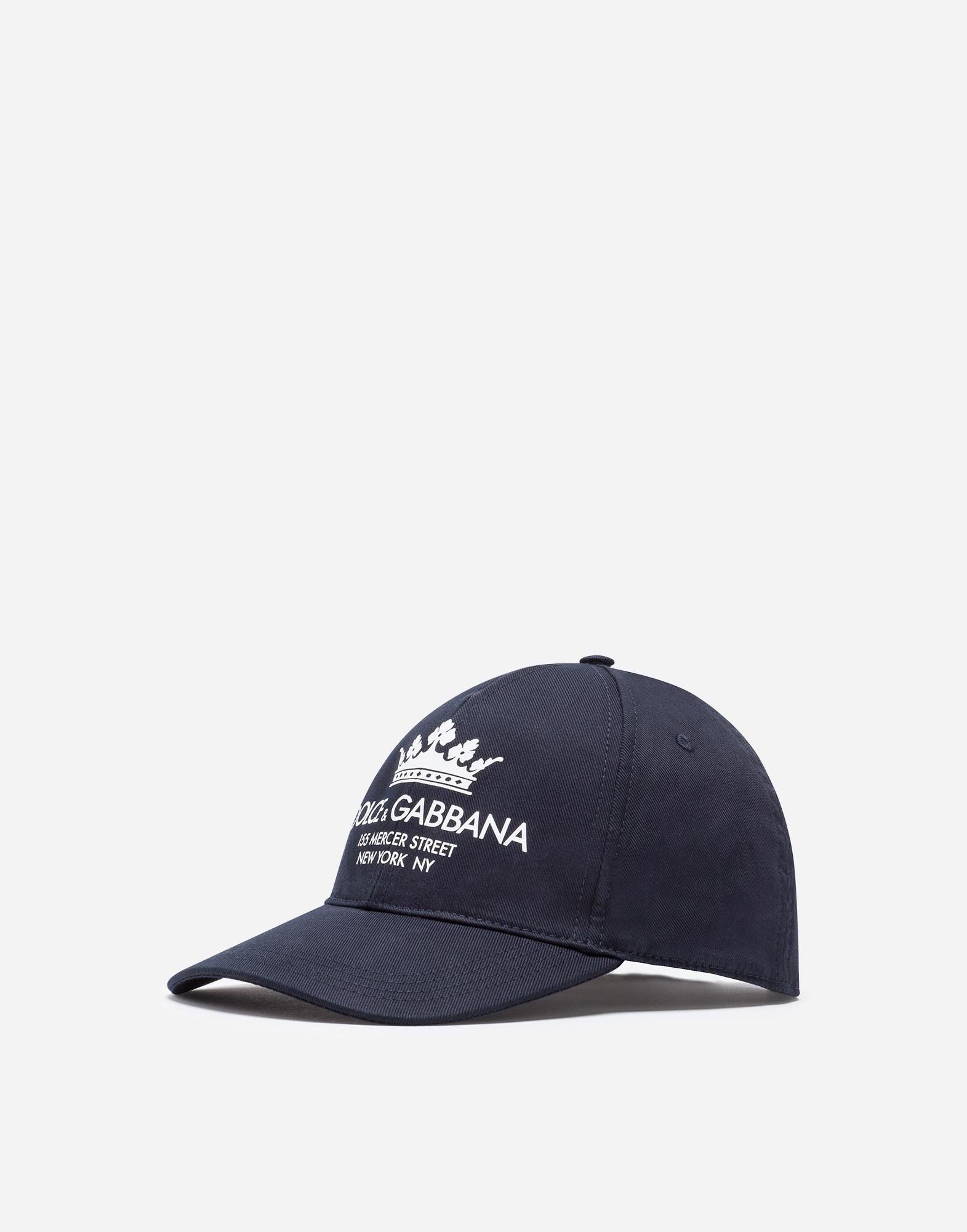 BASEBALL CAP IN PRINTED STRETCH COTTON