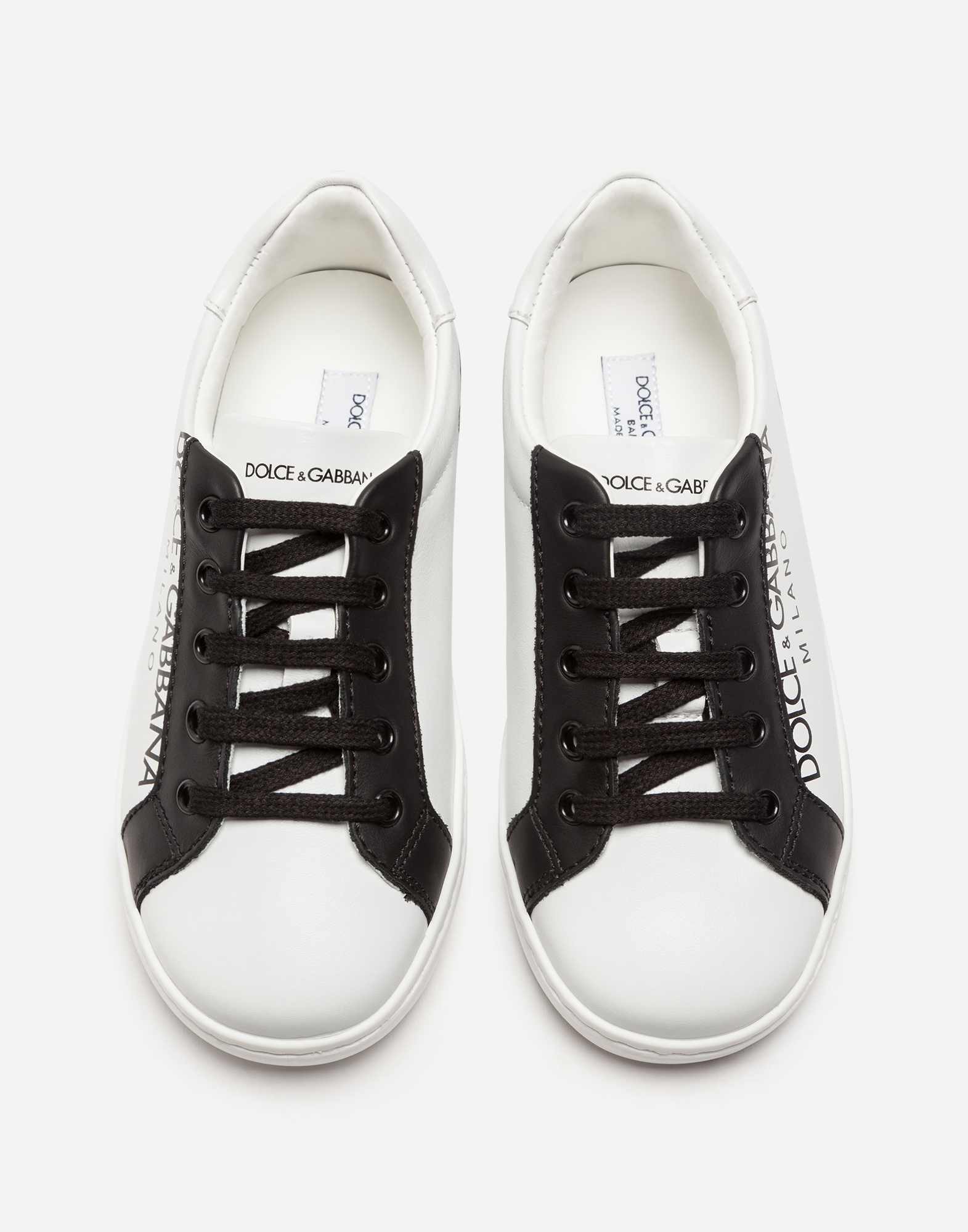 Dolce&Gabbana NAPPA LEATHER SNEAKERS