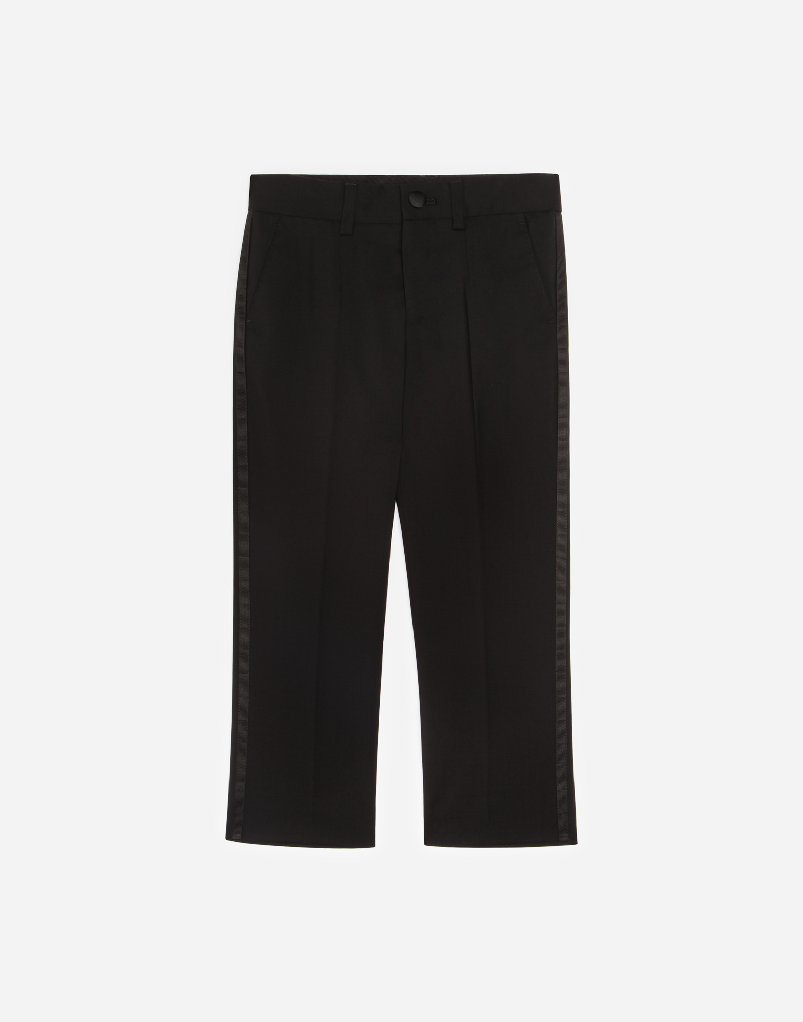 STRETCH WOOL PANTS