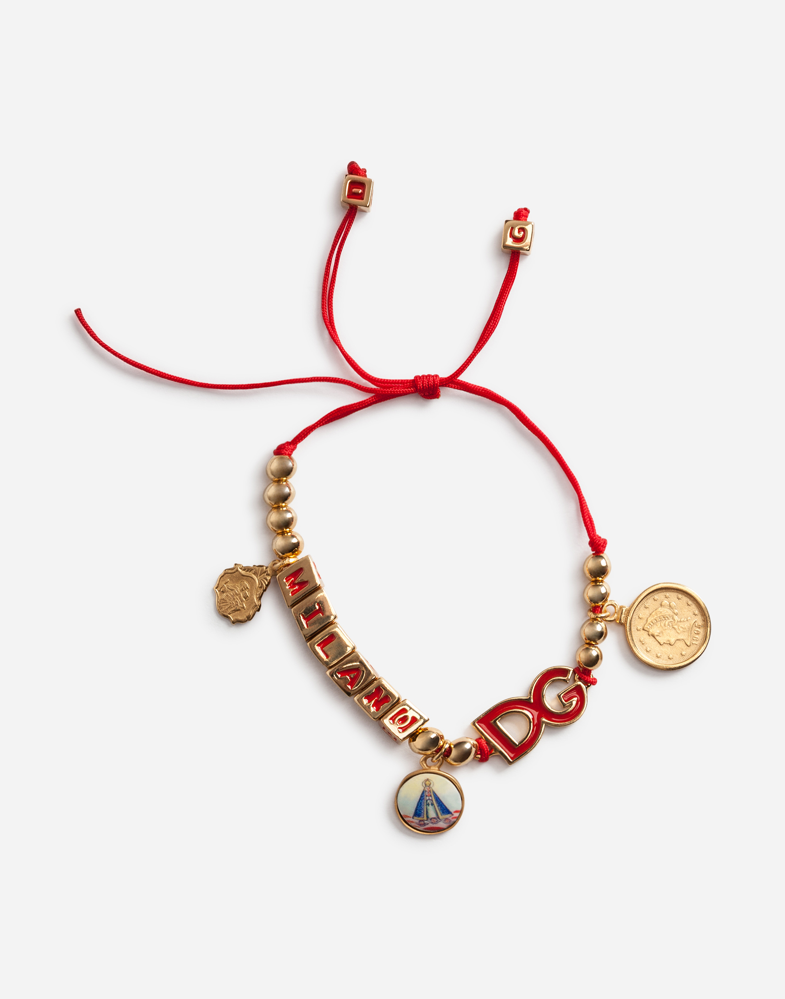 Dolce&Gabbana BRACELET WITH CHARMS