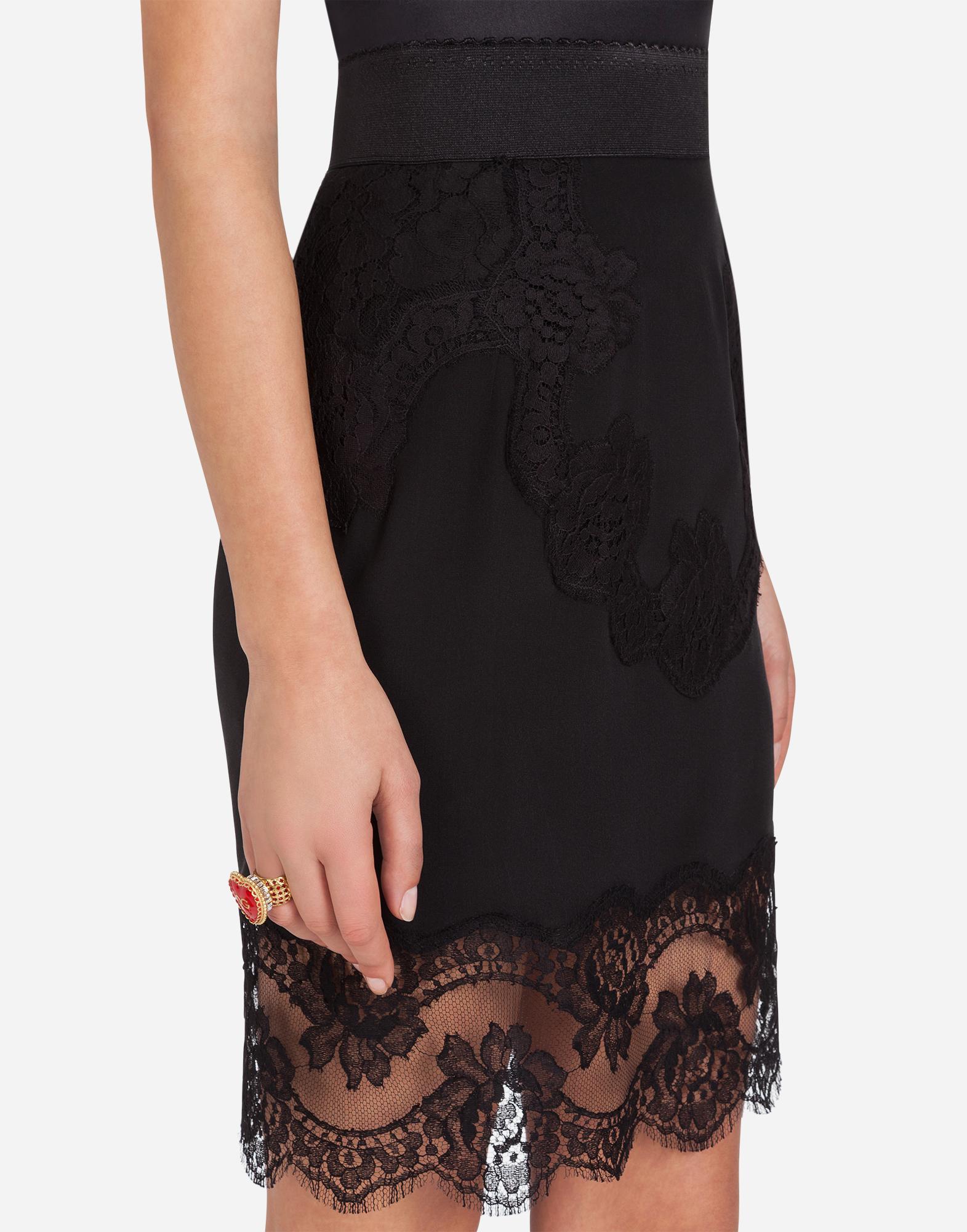 Dolce&Gabbana LINGERIE SKIRT