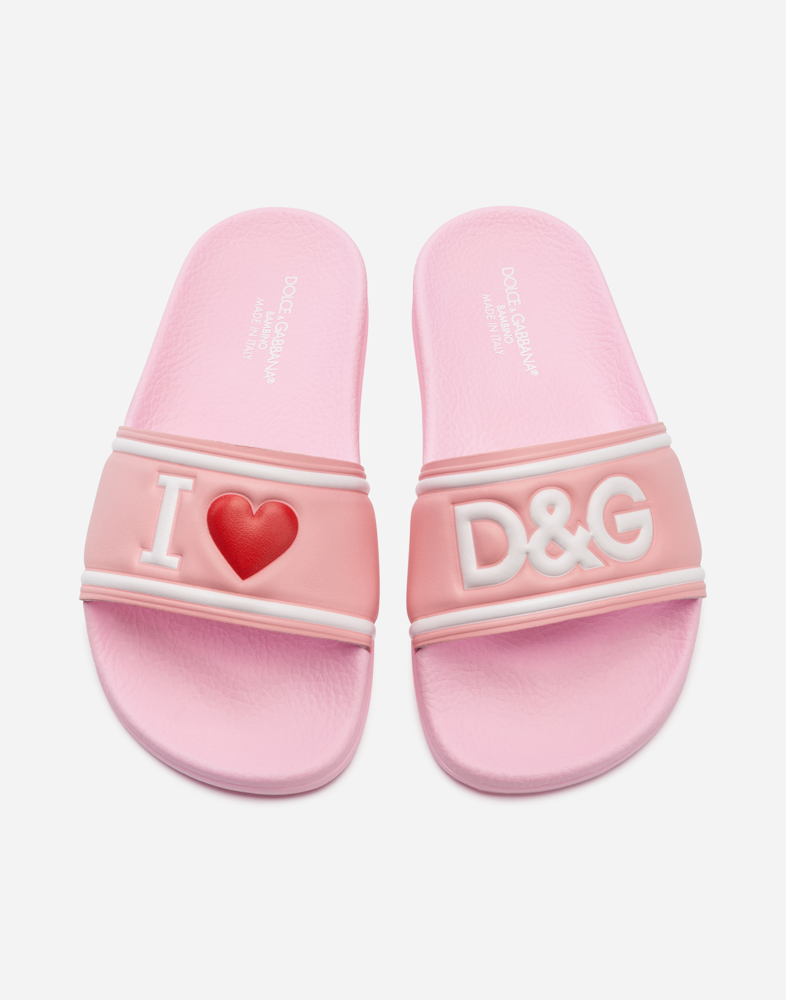 Dolce & Gabbana PRINTED RUBBER SLIPPERS