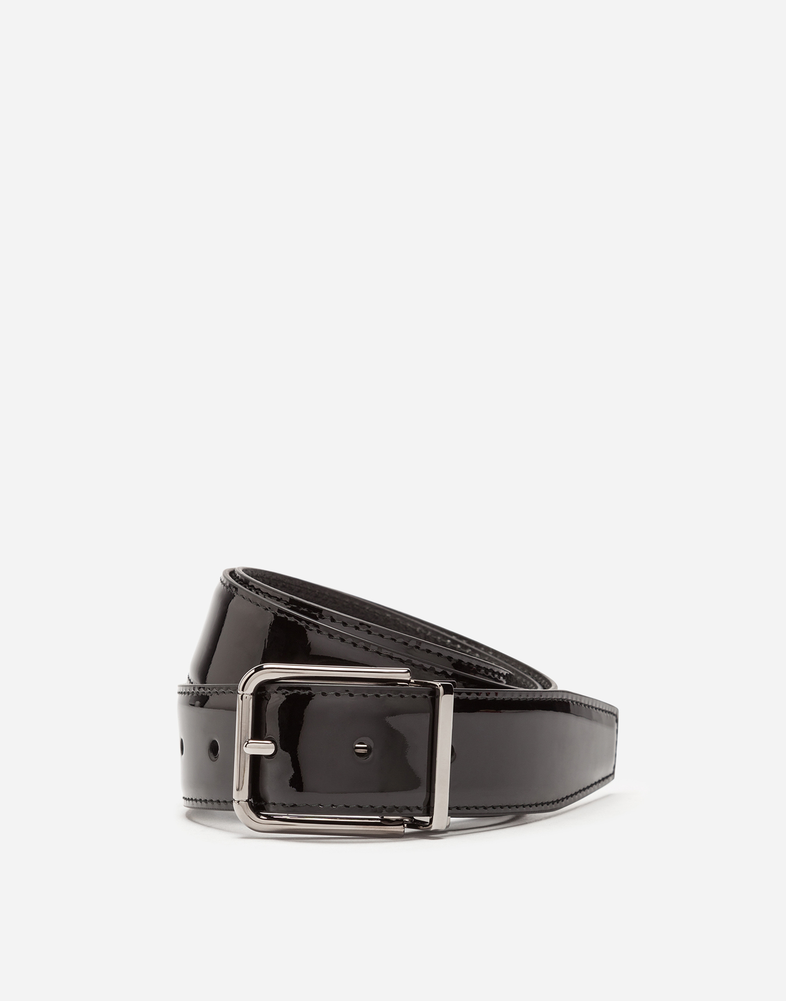 Dolce&Gabbana PATENT LEATHER BELT