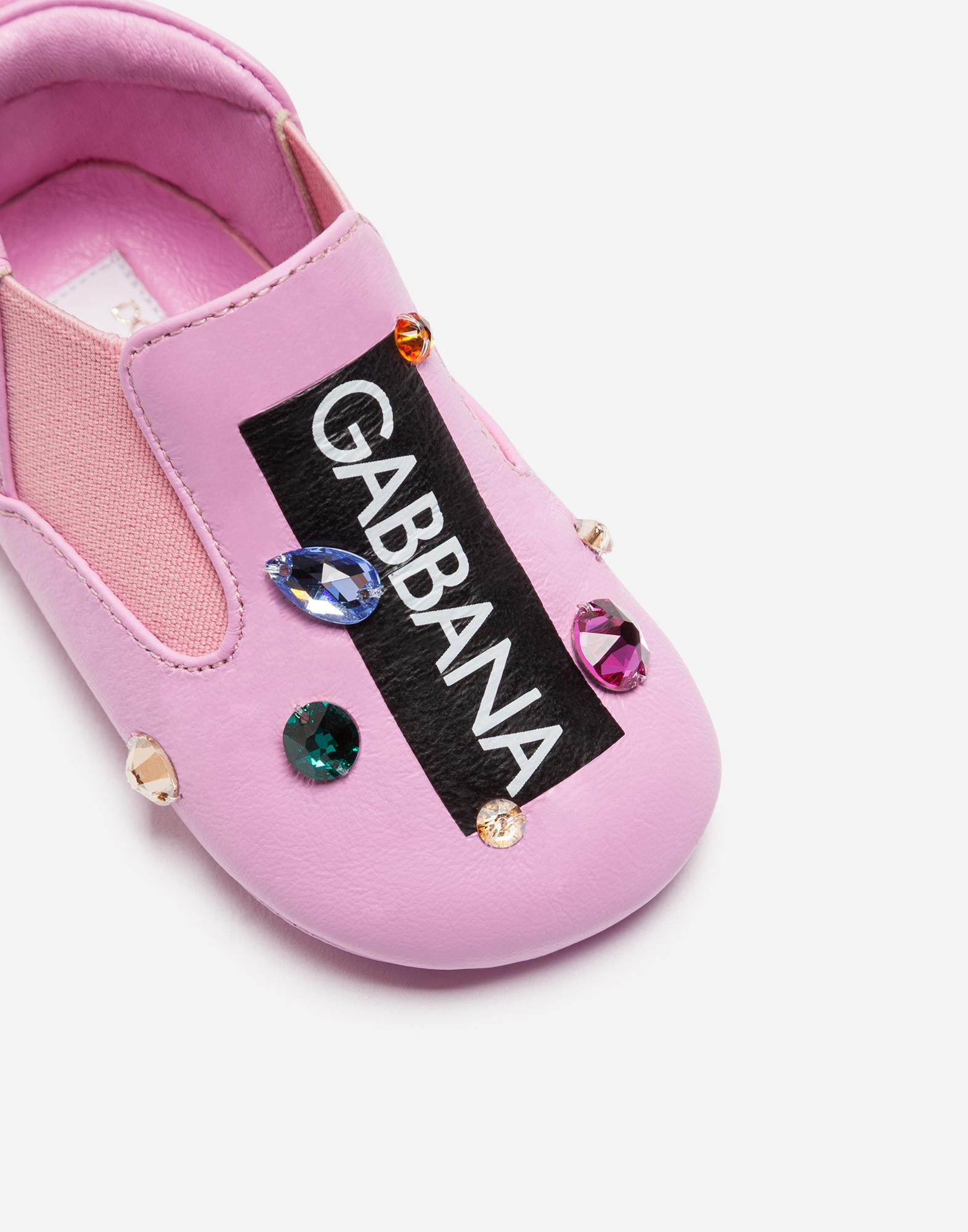 Dolce & Gabbana SLIPPERS WITH RHINESTONES