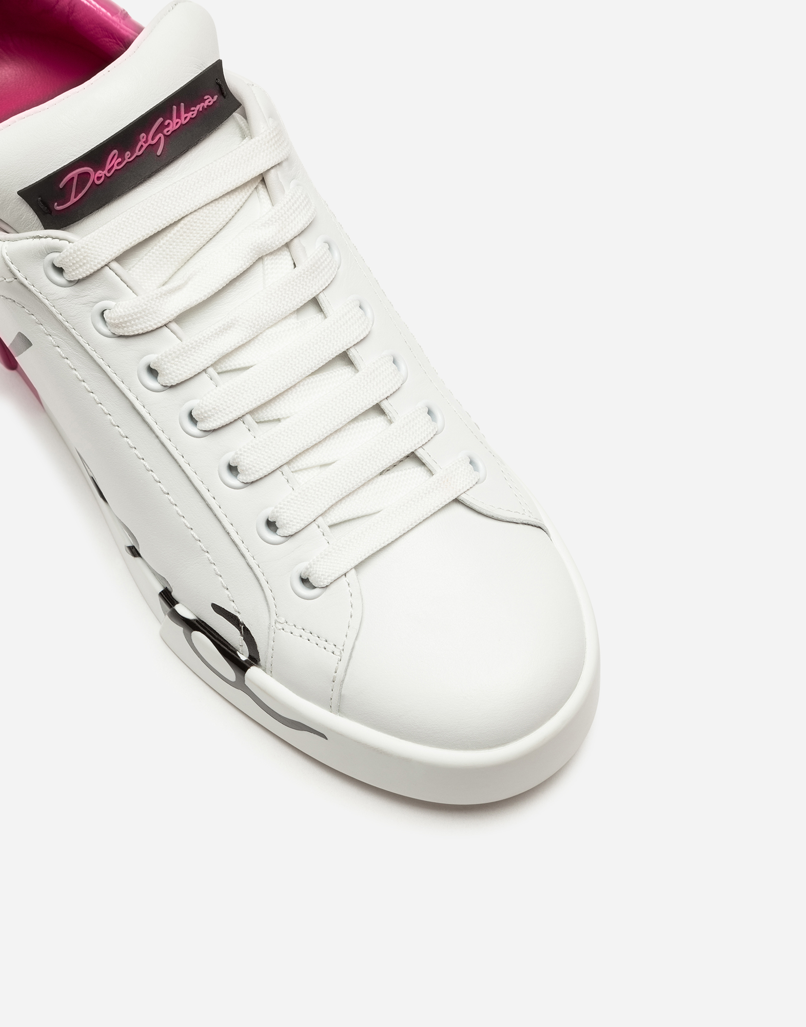 Dolce & Gabbana LEATHER PORTOFINO SNEAKERS