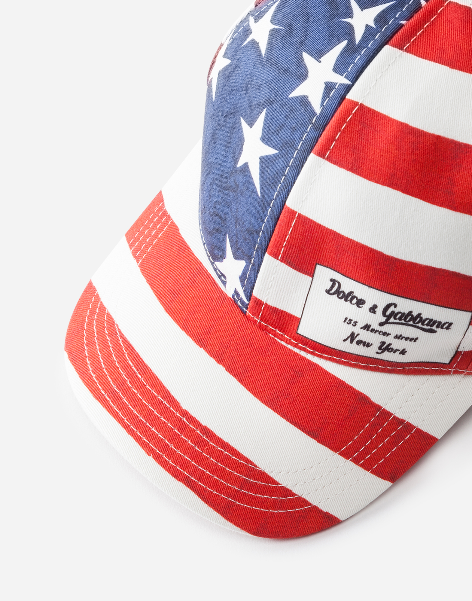 BASEBALL CAP IN PRINTED STRETCH COTTON