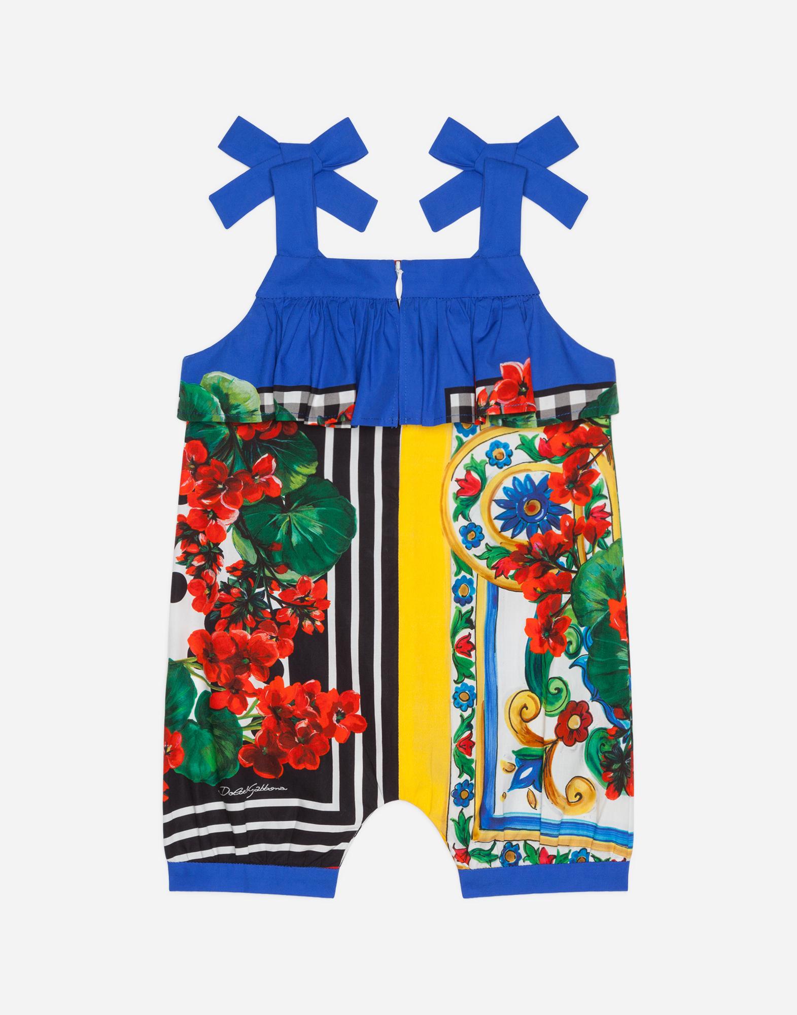 Dolce & Gabbana PRINTED COTTON ONESIE